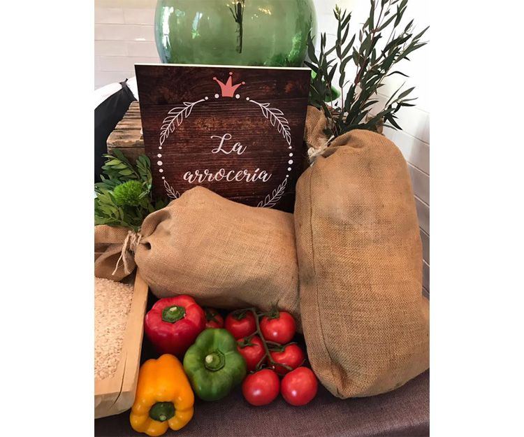 Productos naturales para nuestro catering