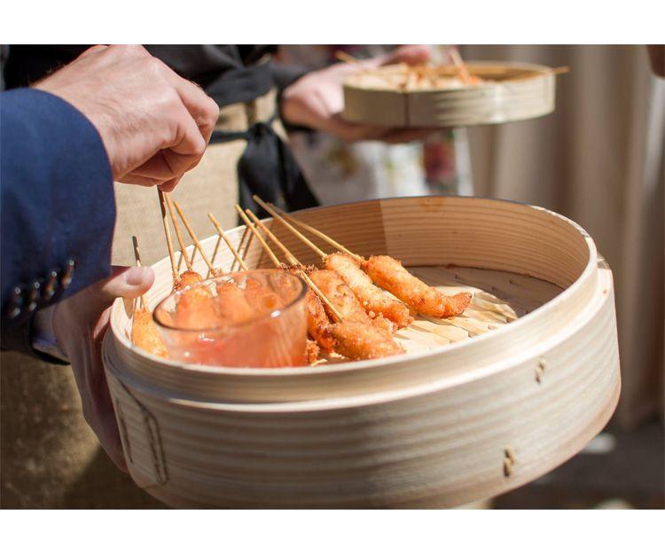 Comida exquisita para tu catering