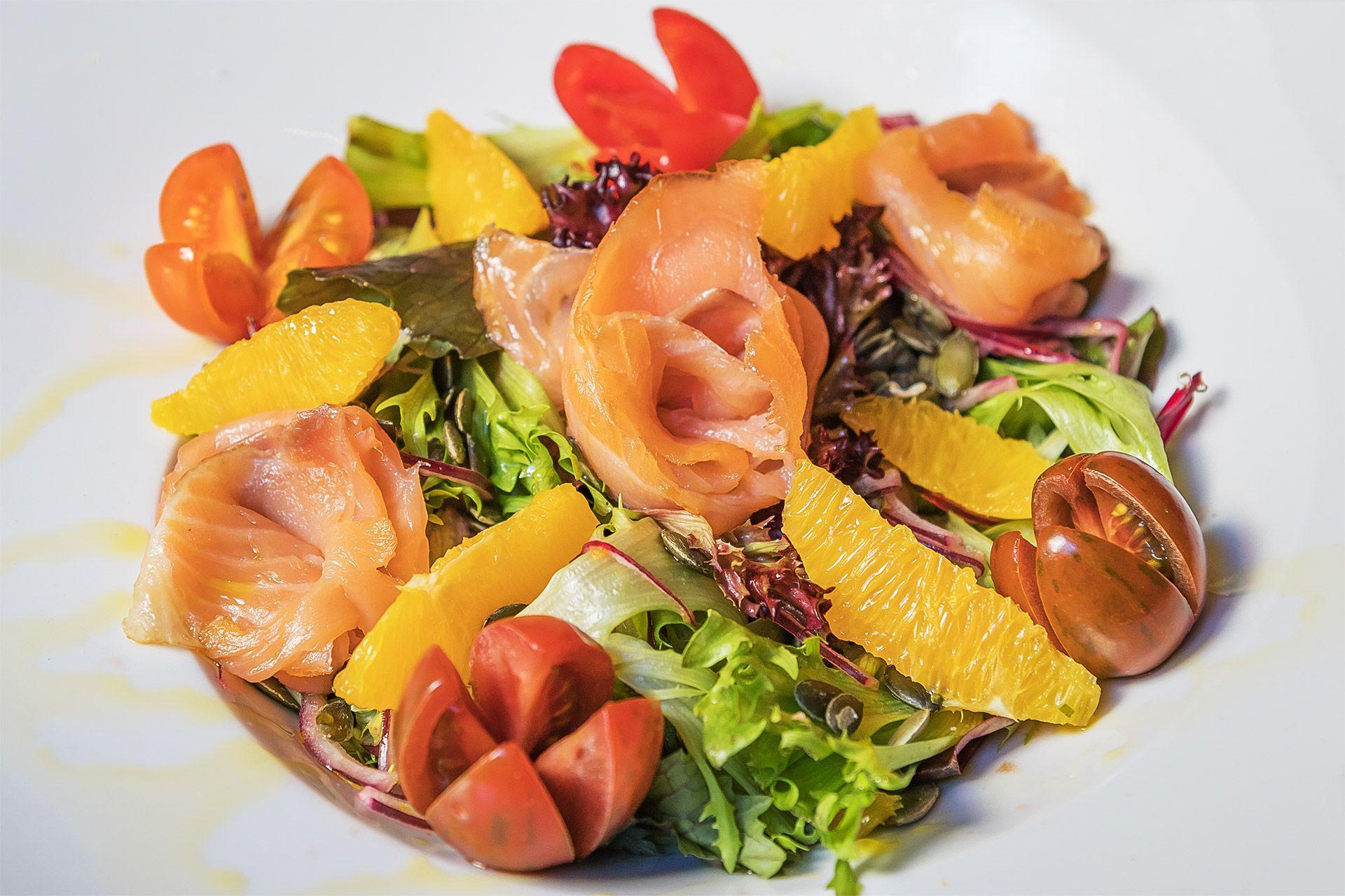 Entrantes y ensaladas: Carta de Casa Gloria Restaurante