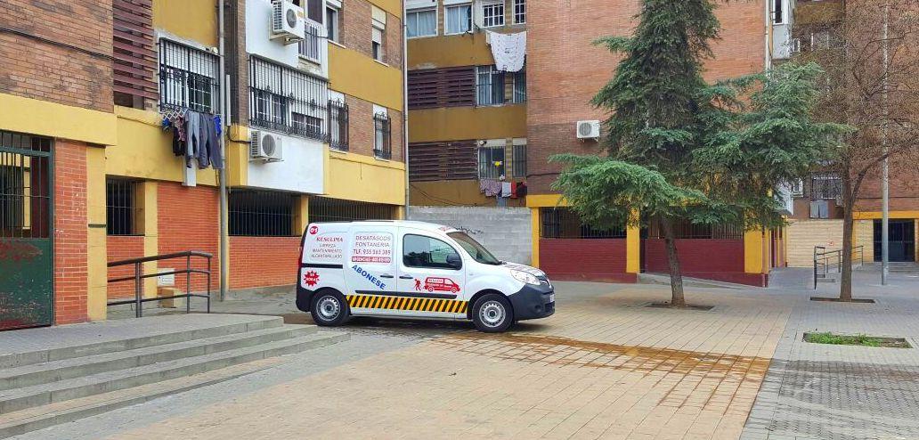 NUESTRO EQUIPO DE LIMPIEZA DE AGUA ALTA PRESION REALIZANDO LABORES DE MANTENIMIENTO DE COMUNIDADES