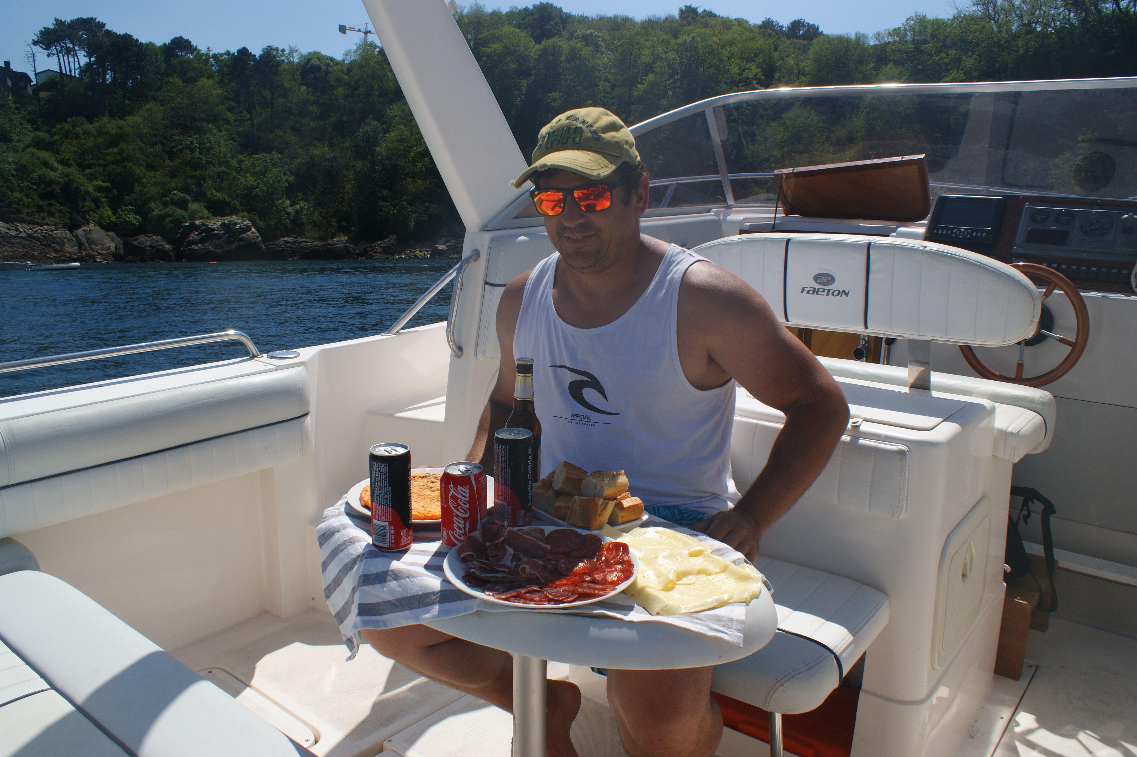 Cenas en el mar