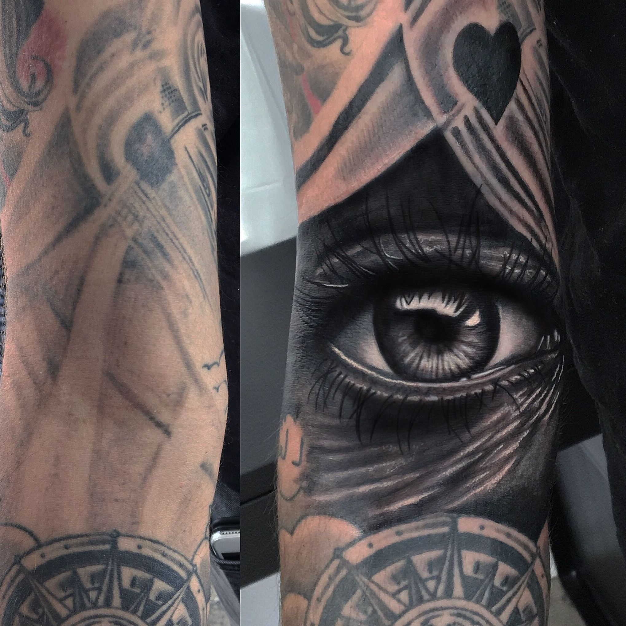 Cover tatuaje en Barcelona