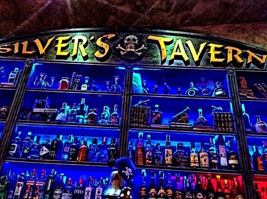 Bar de copas en el puerto deportivo de Getxo