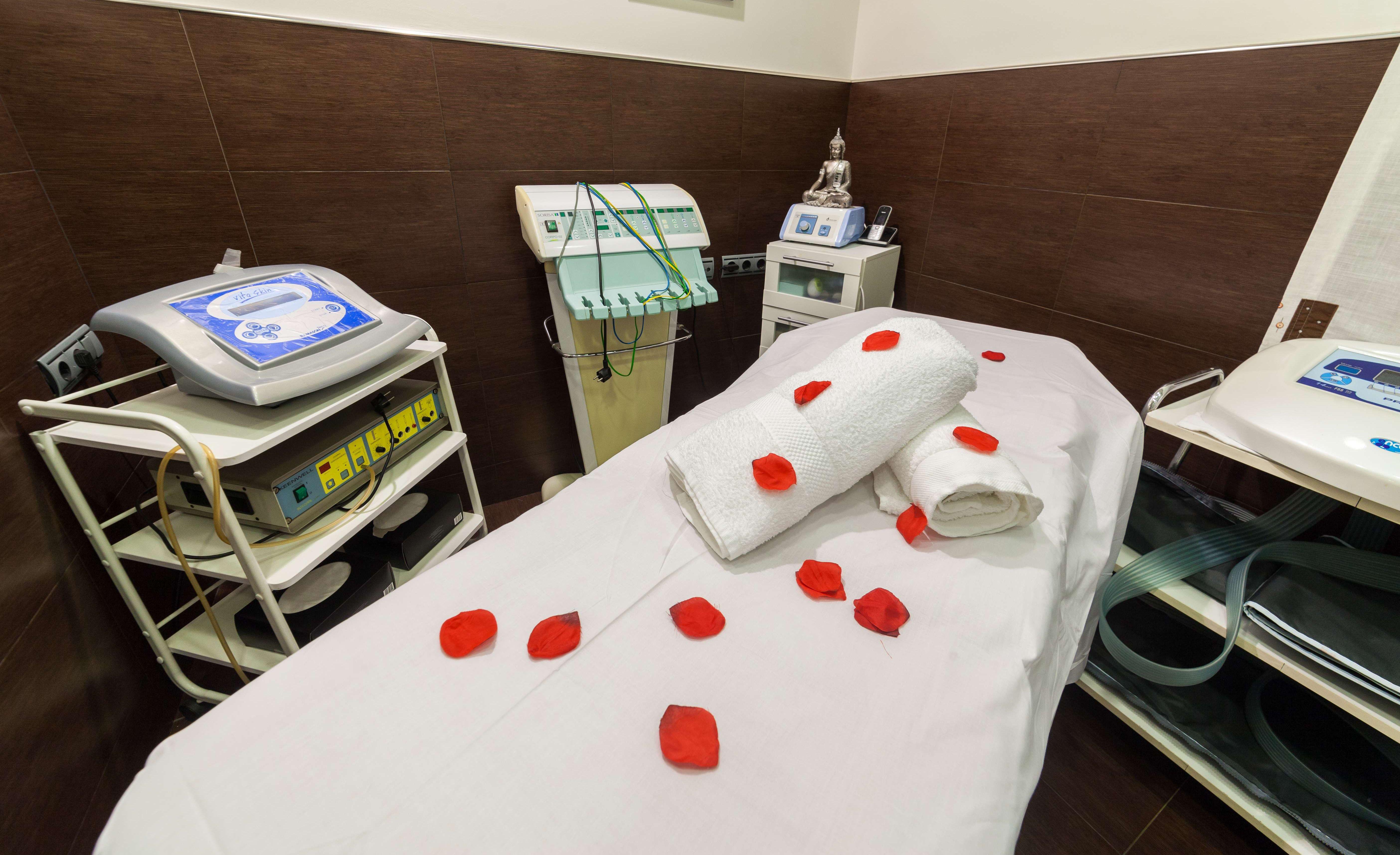 Área para tratamientos corporales