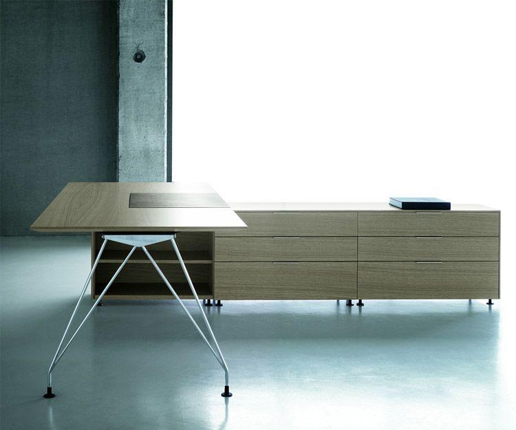 Mesa de despacho modelo BK  A1 de roble