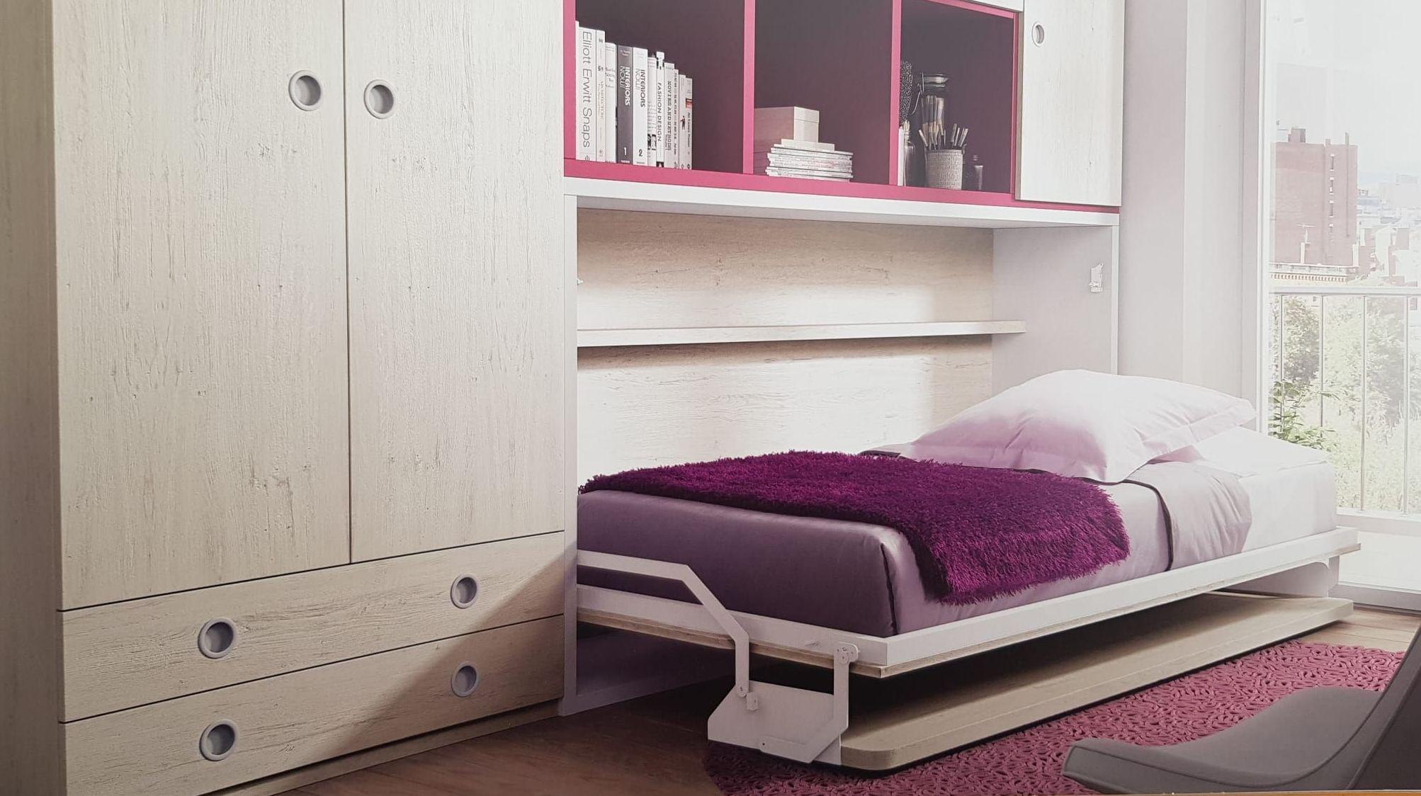 Habitaciones juveniles en Hospitalet de Llobregat para habitaciones pequeñas