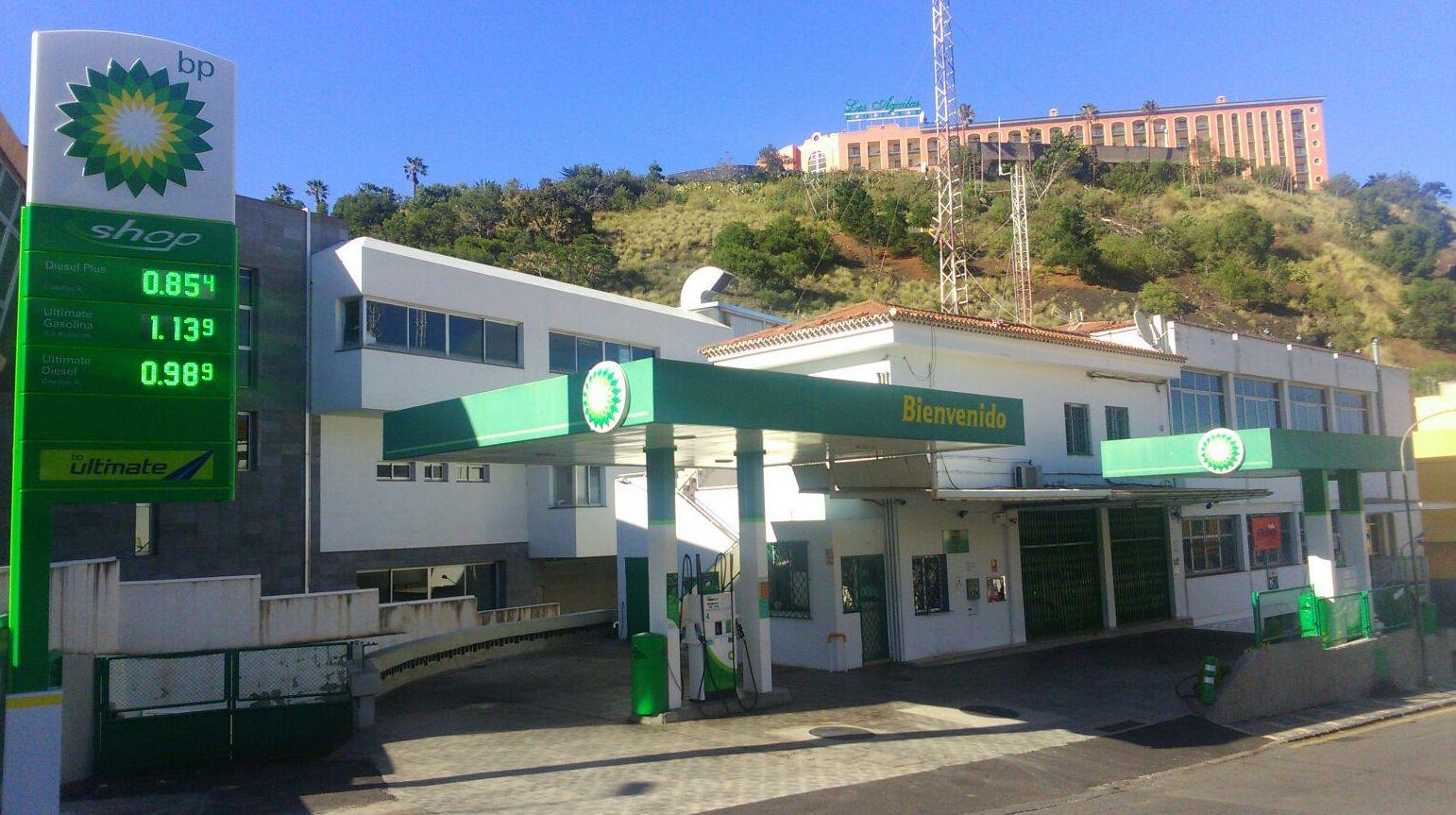 Estación de Servicio BP Las Arenas