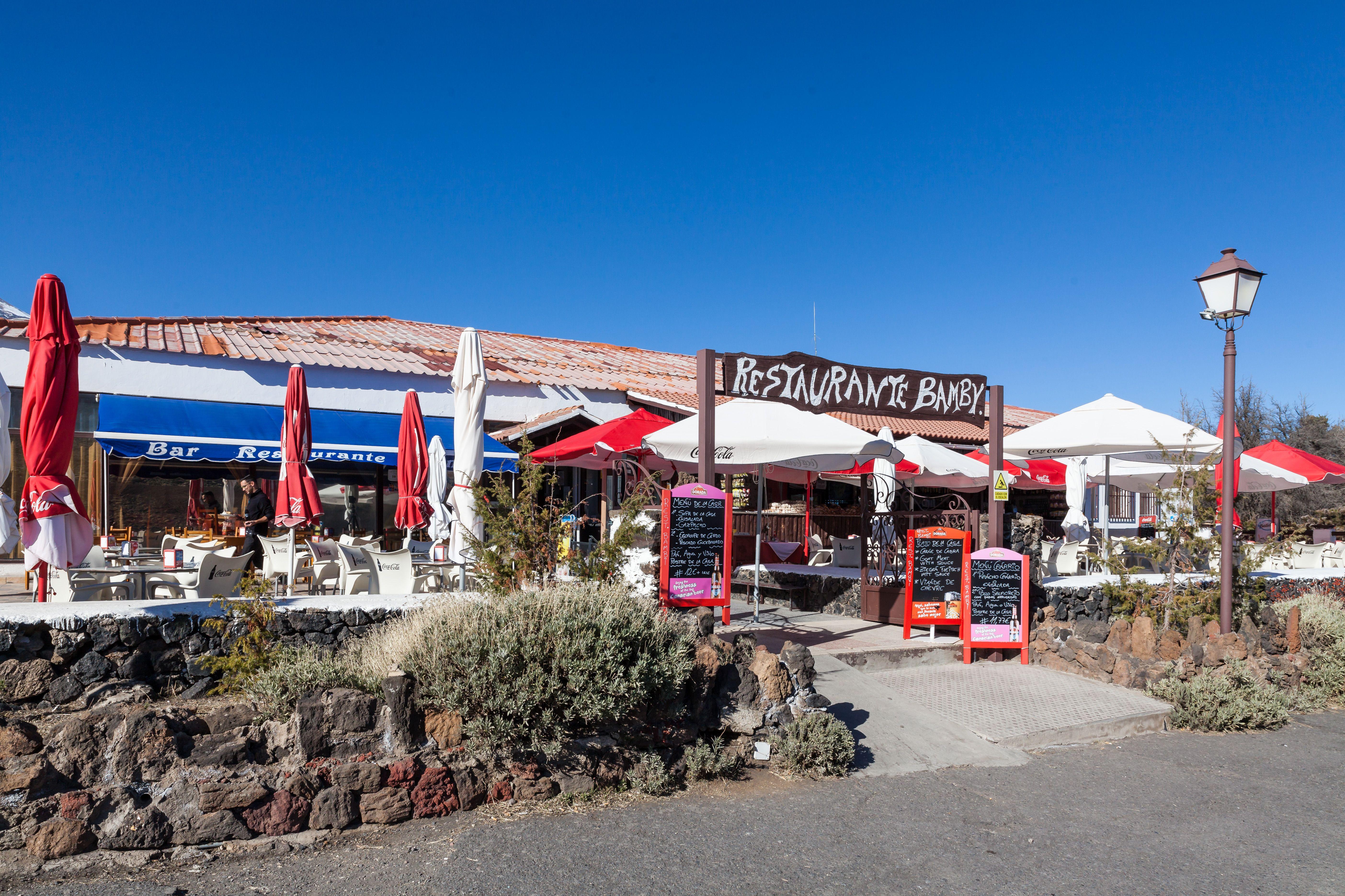 Foto 23 de Empresa de restauración ubicada en el Parque Nacional del Teide en La Orotava | Restaurantes El Portillo y La Bamby