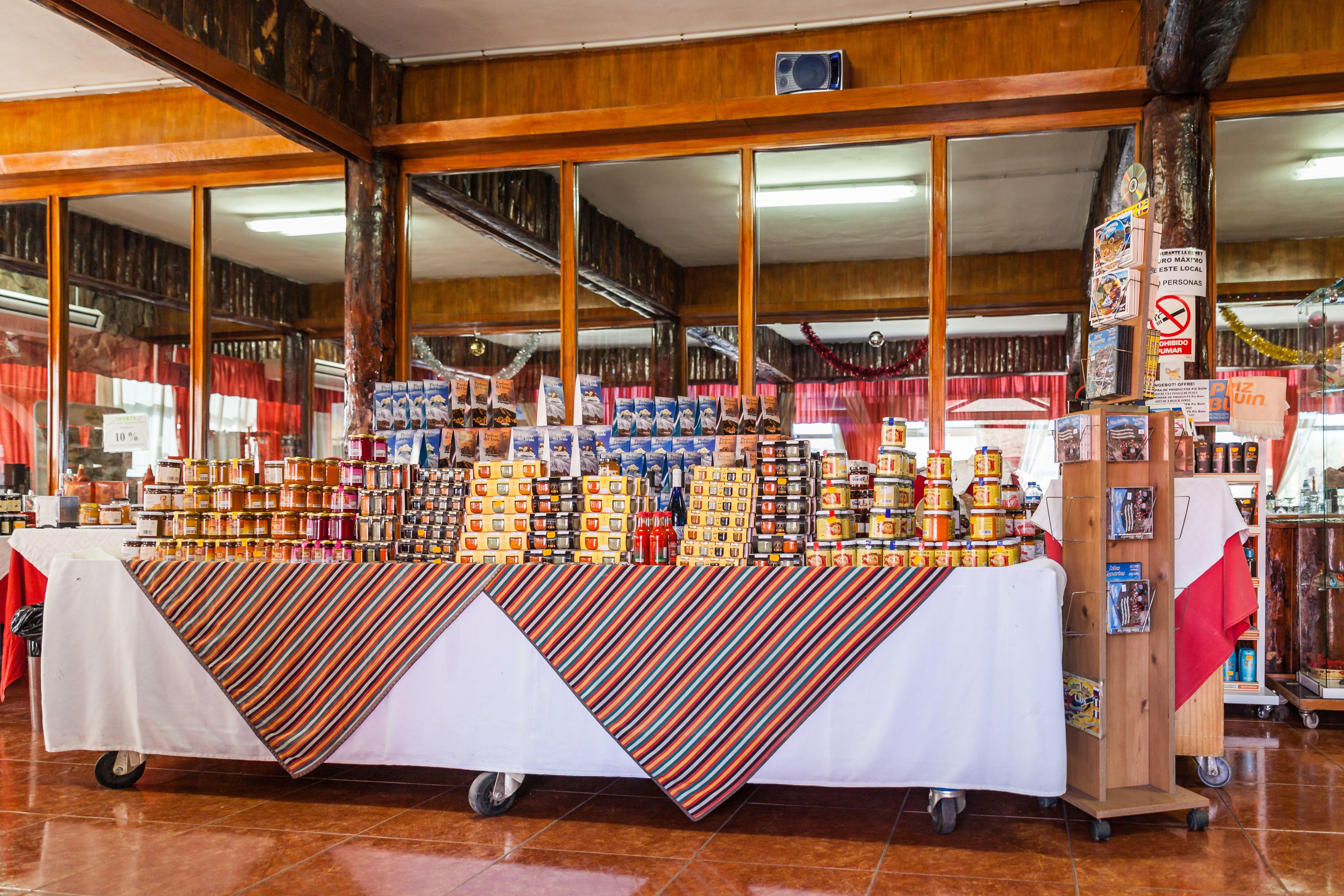 Foto 7 de Empresa de restauración ubicada en el Parque Nacional del Teide en La Orotava | Restaurantes El Portillo y La Bamby