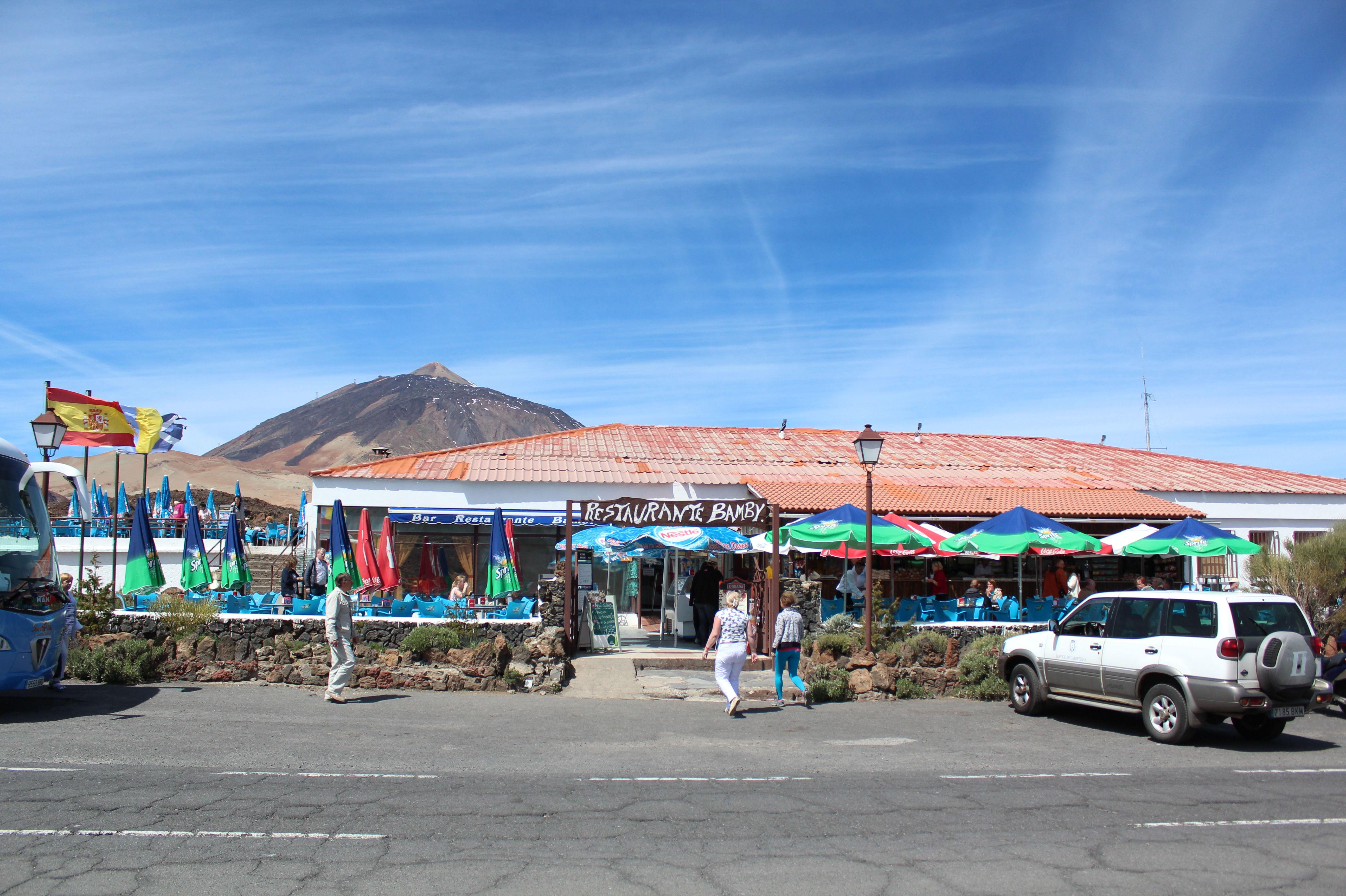 Restaurante en el Parque nacional del Teide