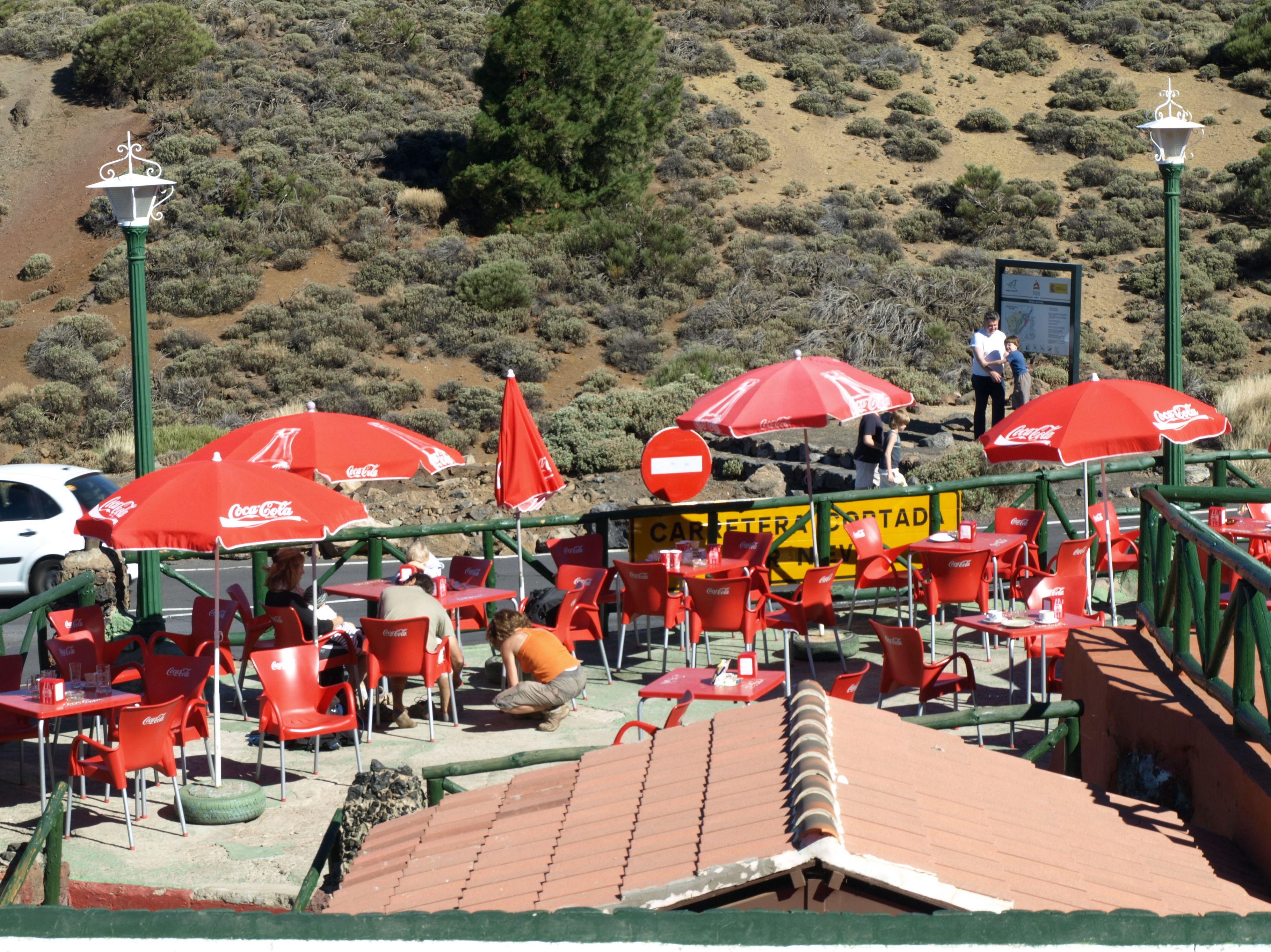 Vistas desde el restaurante El Portillo