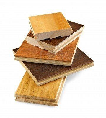 Muestras de suelo d madera
