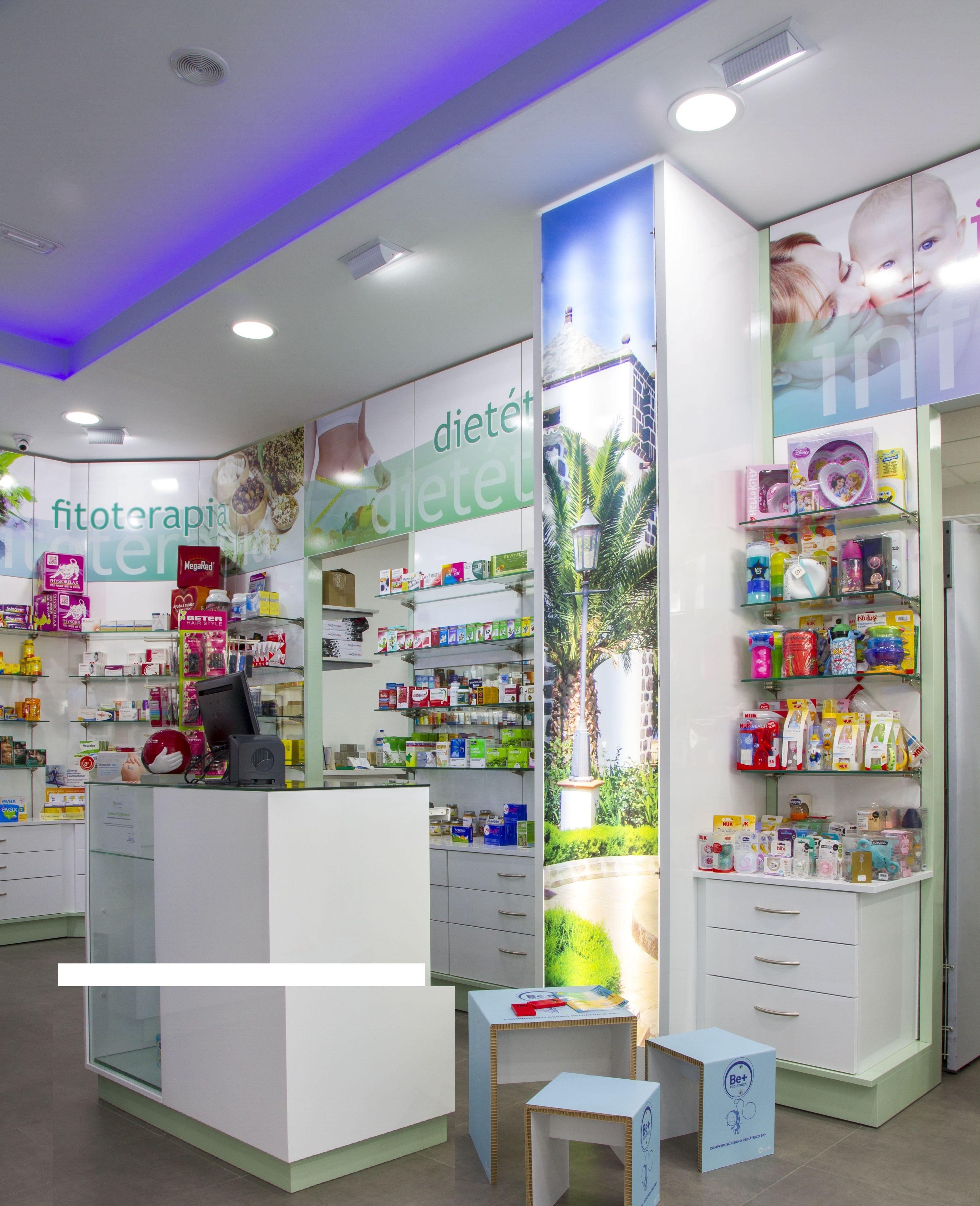 Mostradores para farmacia en Tenerife