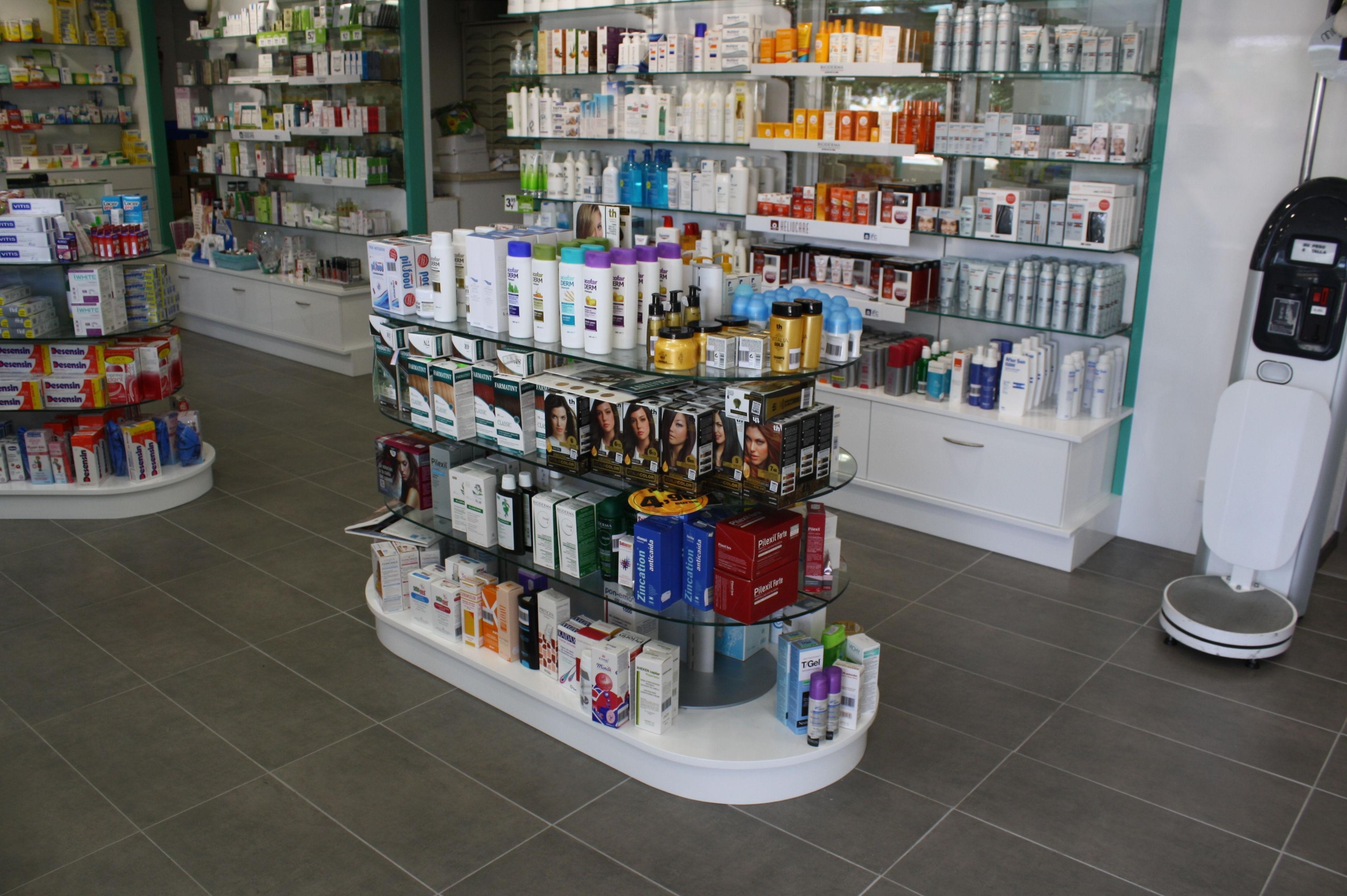 Expositores para farmacias en Santa Cruz de Tenerife