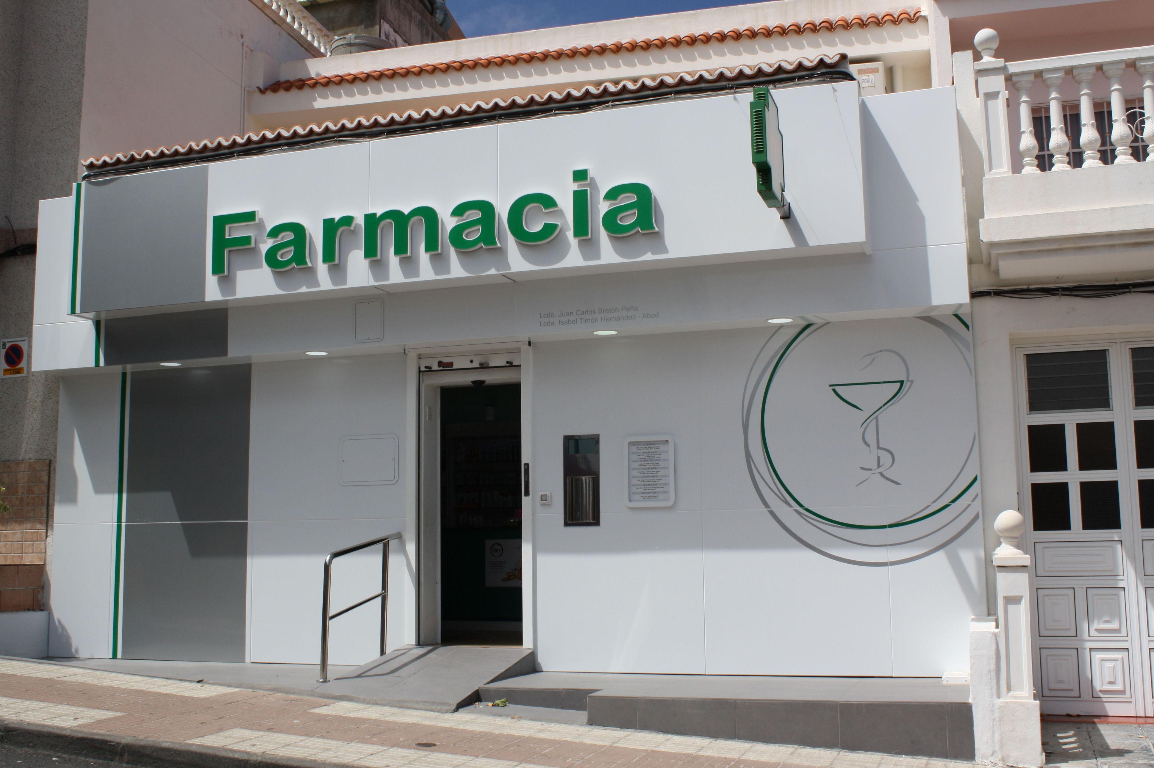 Fachadas: Productos y servicios de Canarias Decofarma                                   -             Imeldo Rodríguez Vázquez