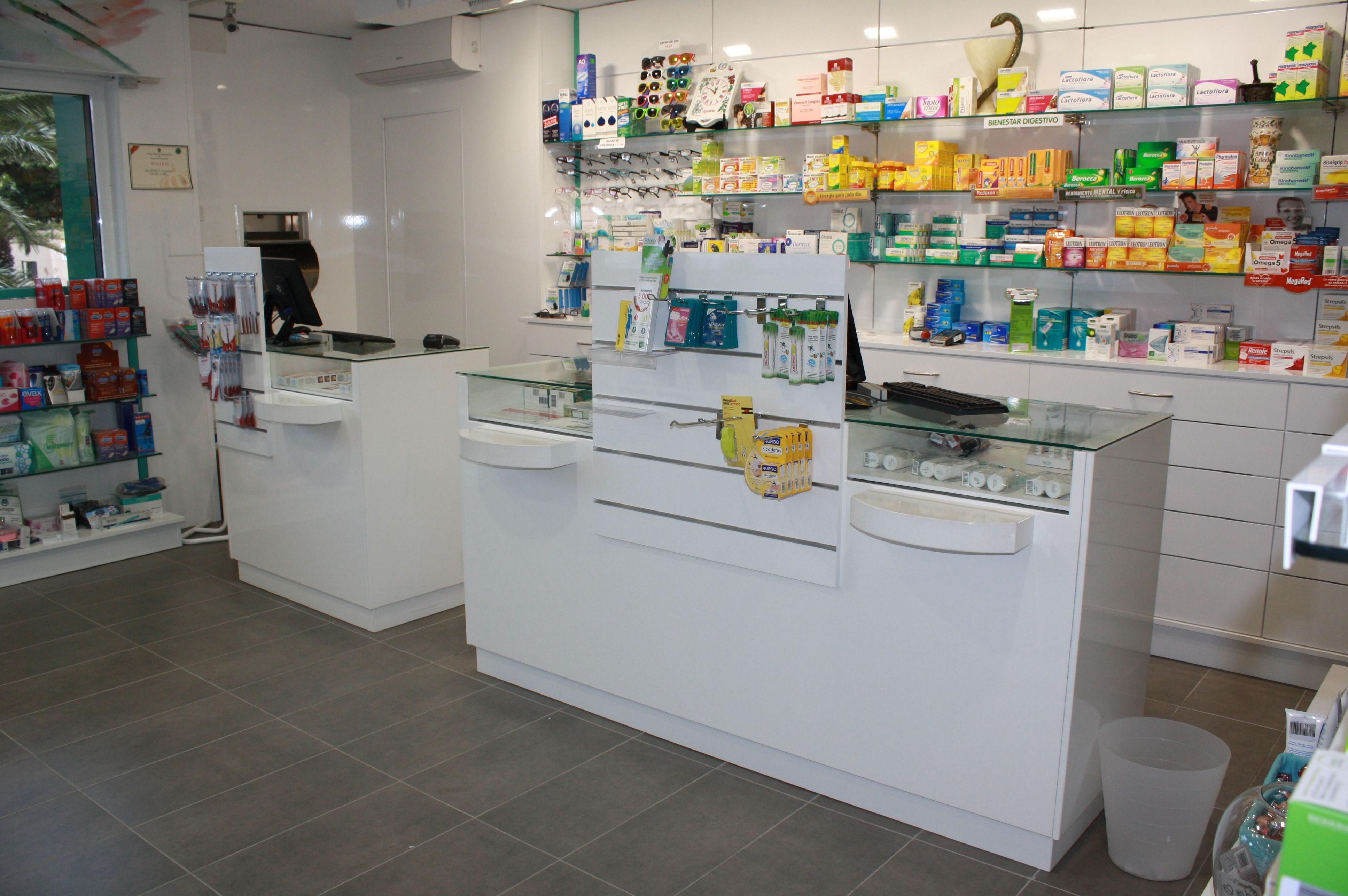 Montaje de farmacias en Canarias