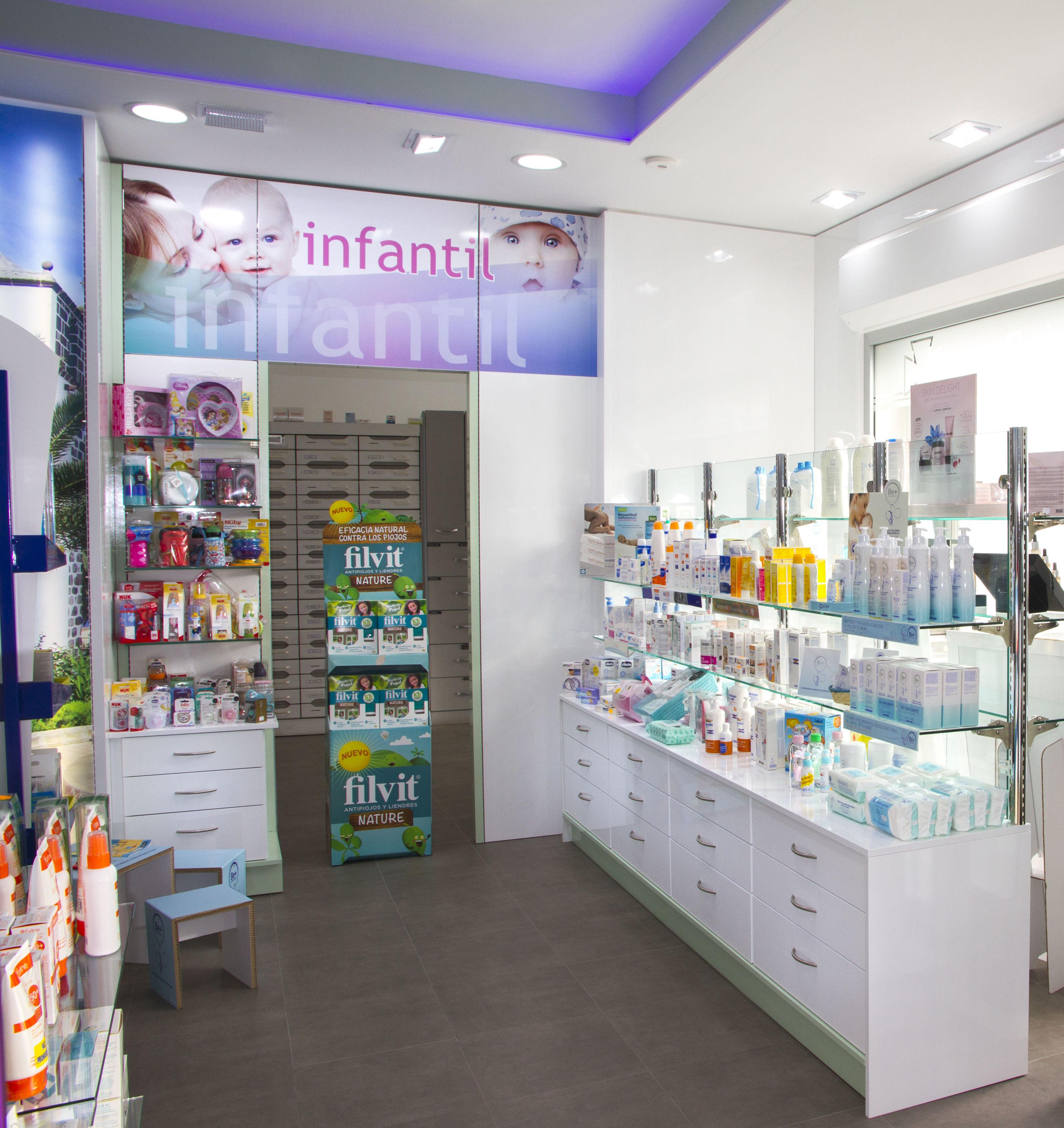 Mobiliario de calidad para farmacias