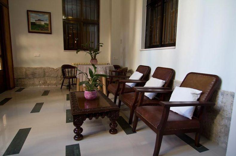 Sala de descanso, lectura y conversación