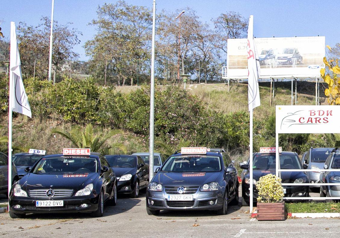 Compra y venta de vehículos de gasolina y gasoil en Badalona