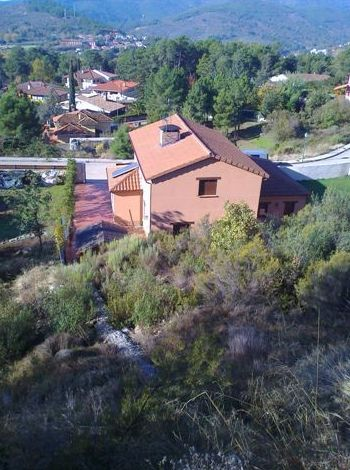 vista aérea de vivienda en 2 plantas-. Bonitas vistas.