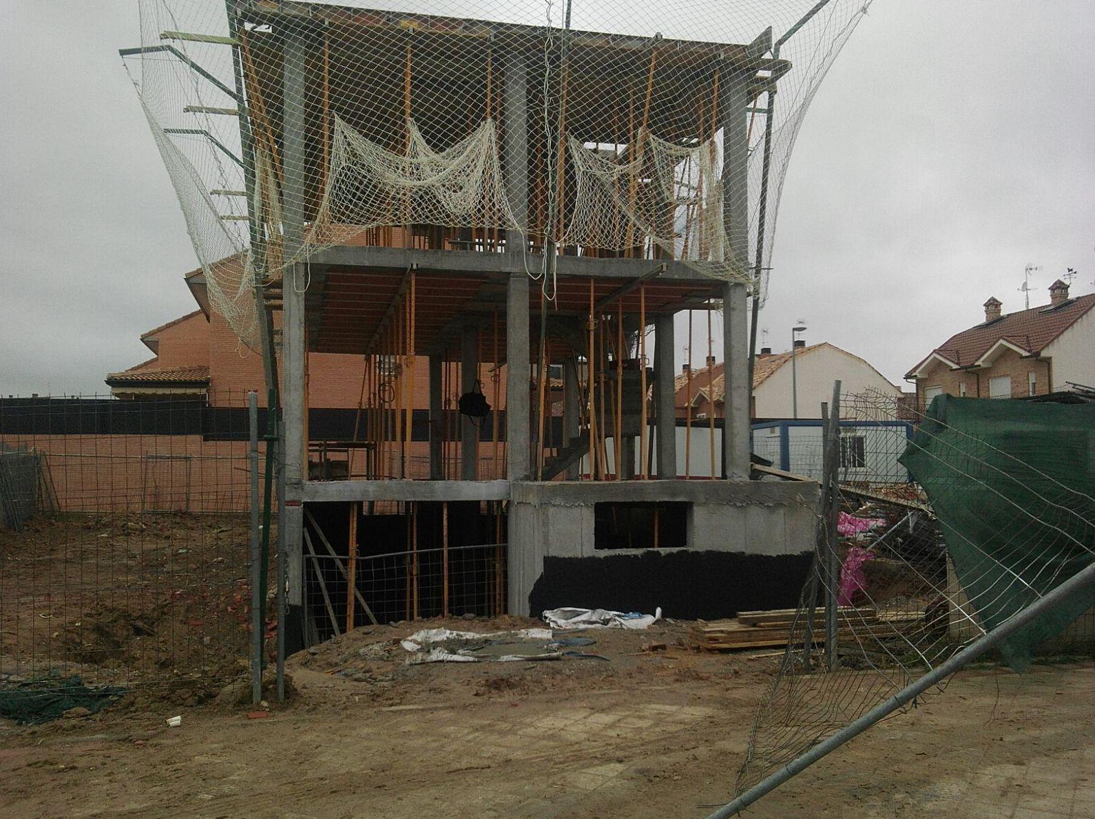 estructura de hormigón