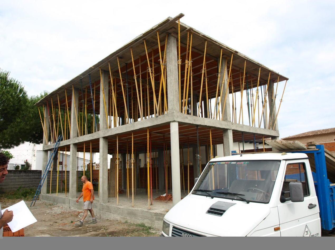estructura vivienda de 2 plantas