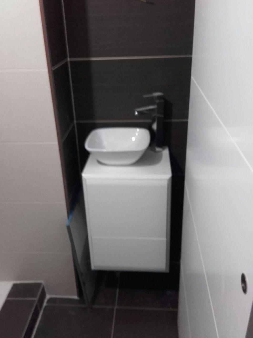 baño pequeño sencillo y economico