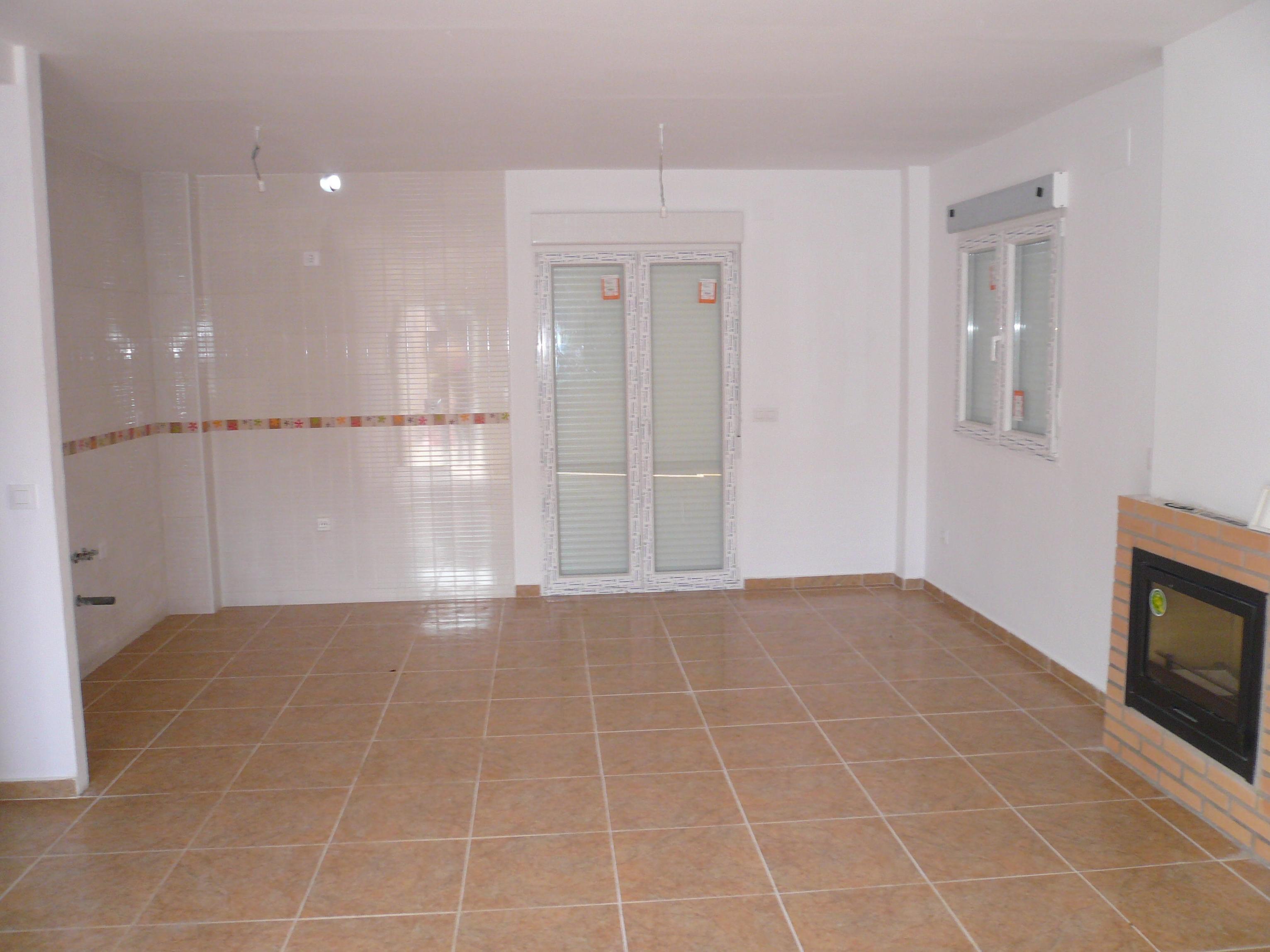 cocina-salon vivienda de 80 m2