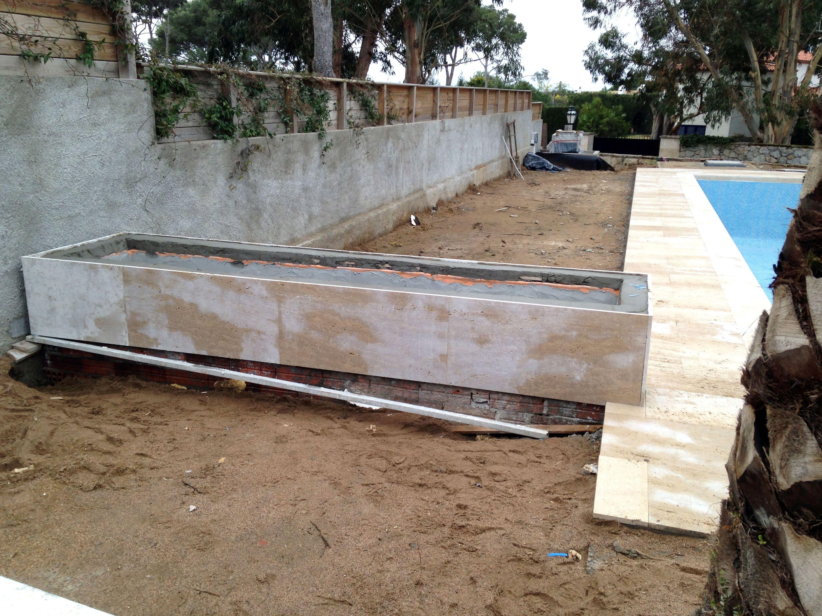 Construcción de jardines en la Costa Brava