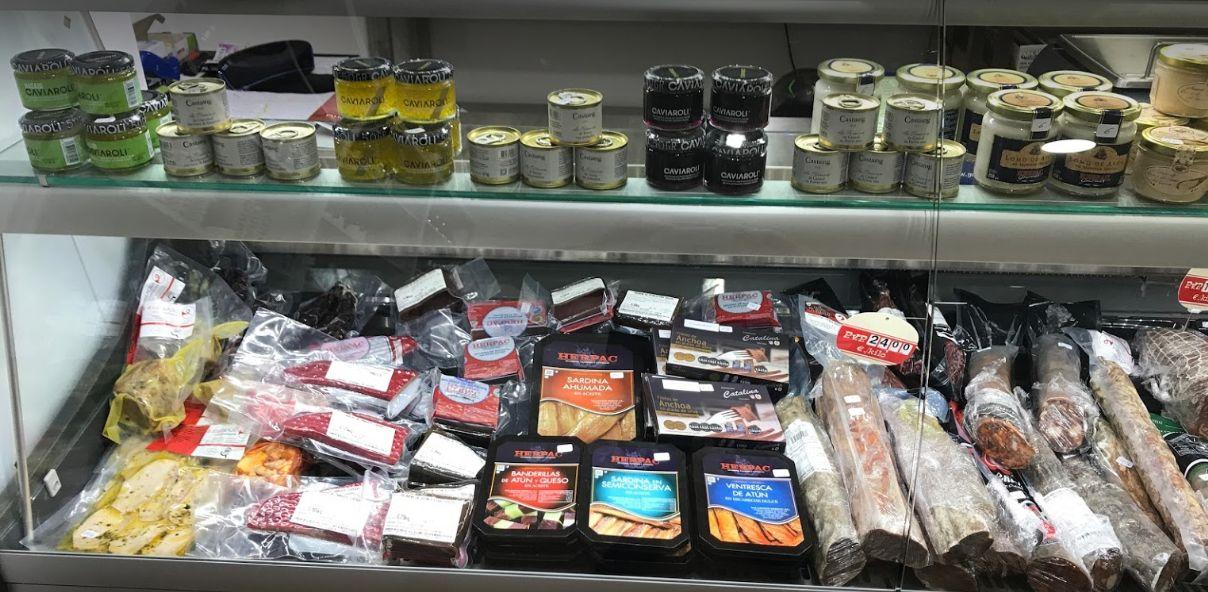 Tienda del gourmet en Fuengirola, Málaga
