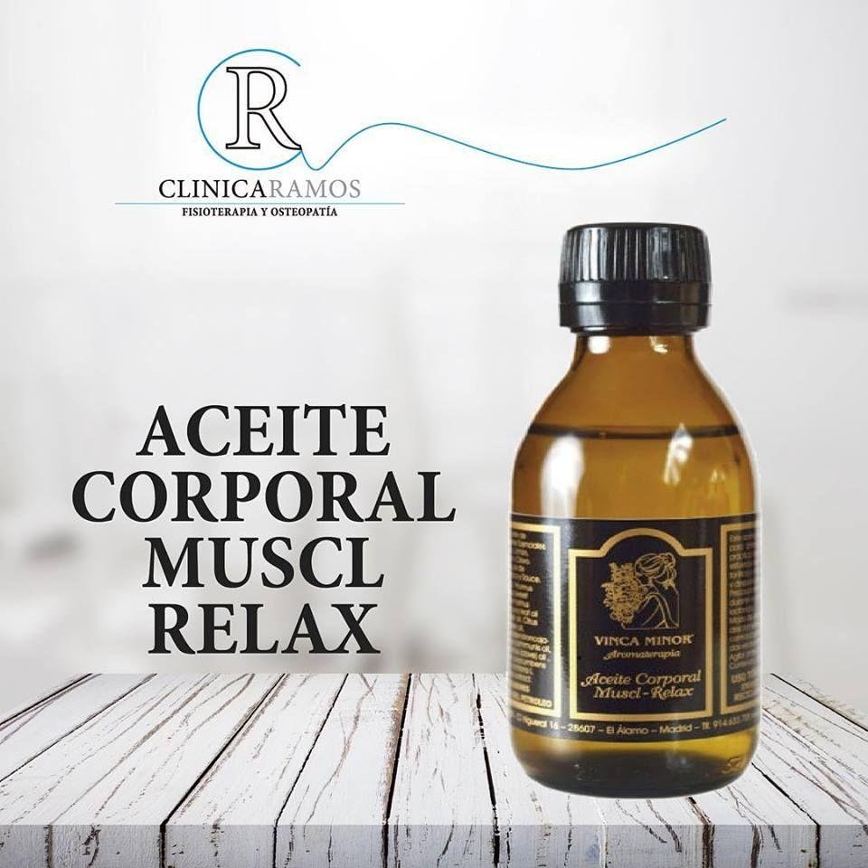 Aceite Corporal Muscl Relax en Salamanca