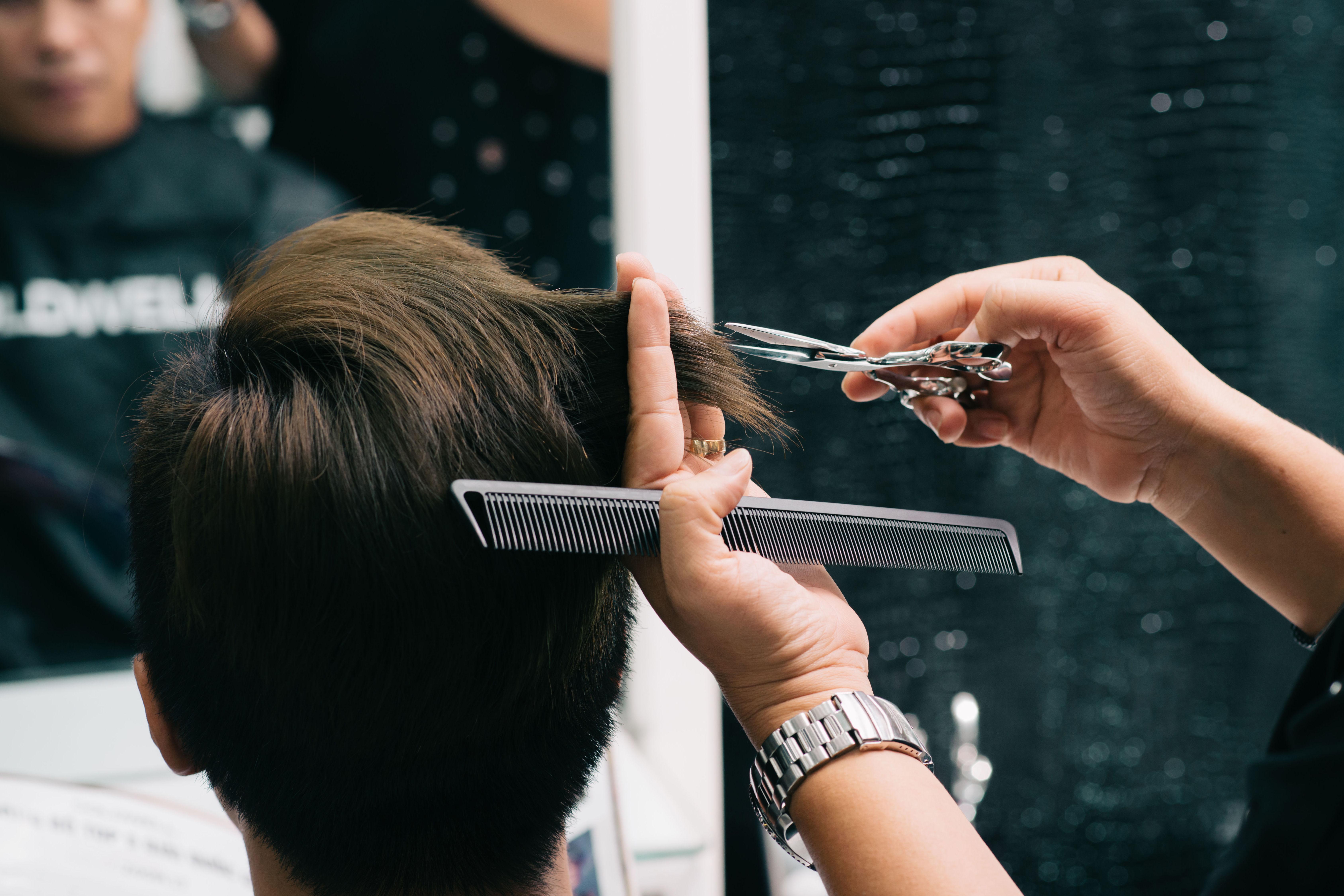 Corte y peinado unisex