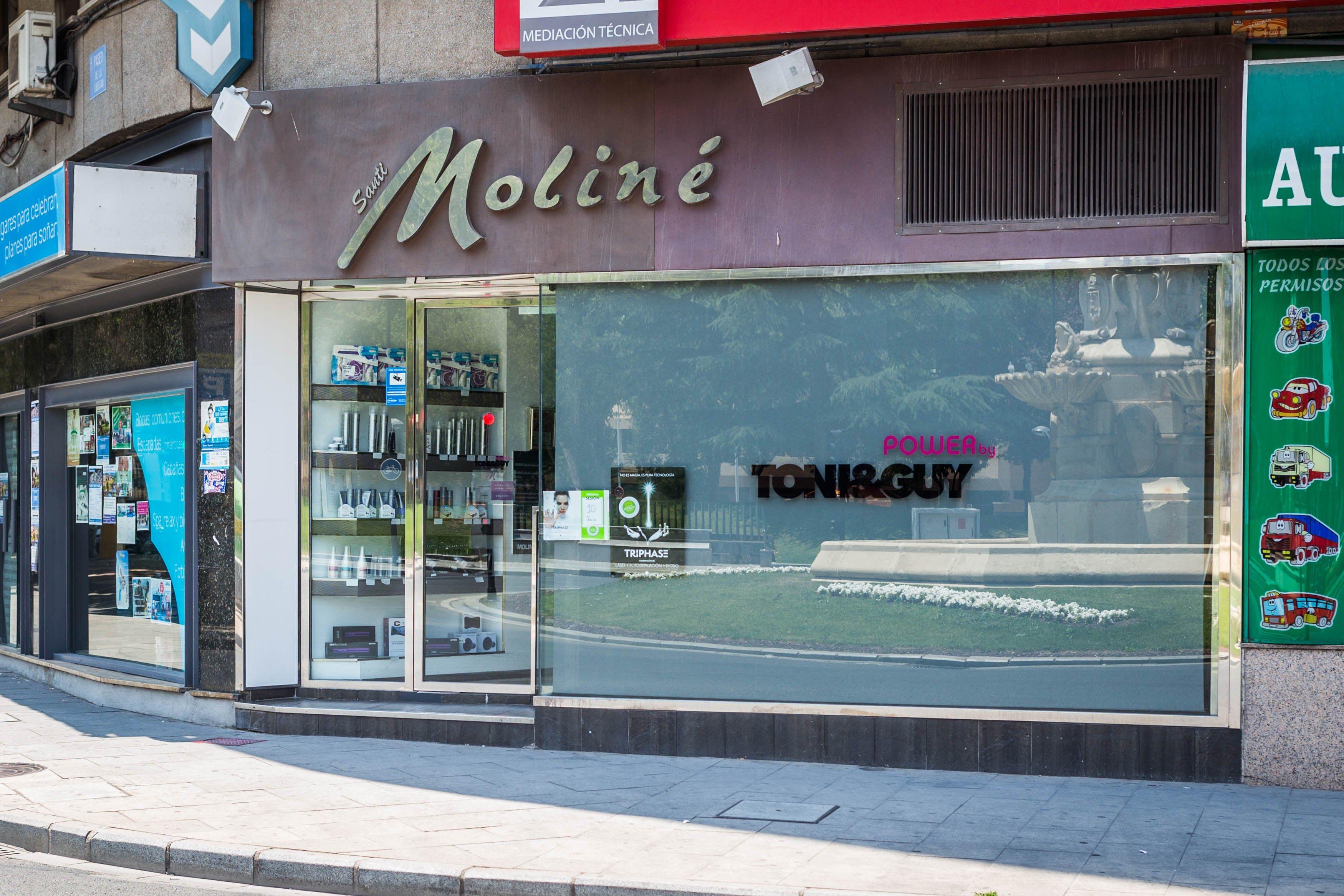 Foto 7 de Peluquería y estética en Albacete   Santi Moliné Creativos del Cabello