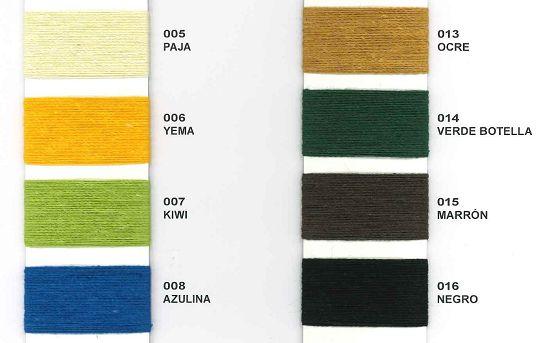 Colores: Catálogo de Hilados Les Molines, S. L.
