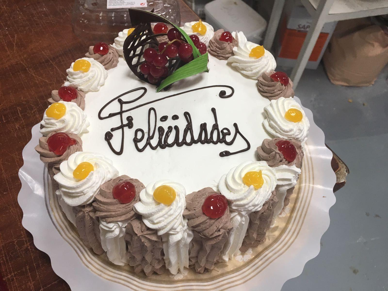Tartas para cumpleaños en Torrelaguna