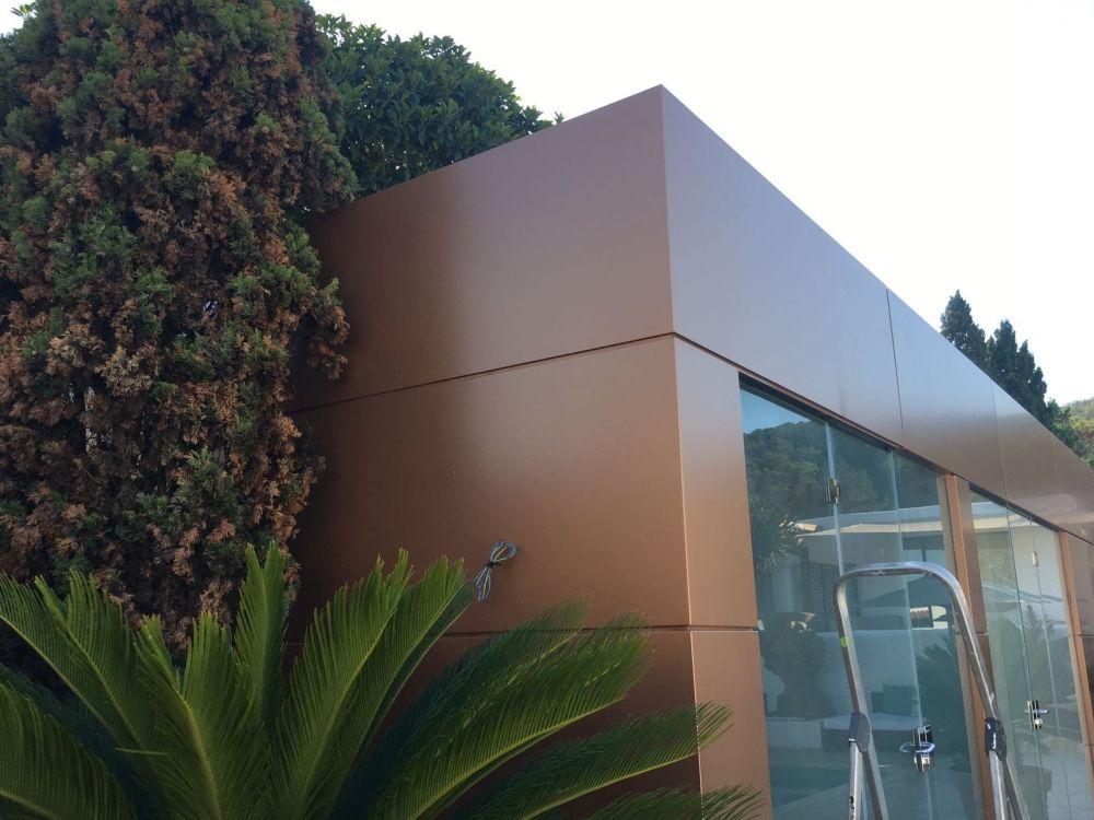 Estructuras metálicas y de aluminio en Ibiza