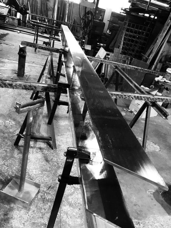 Fabricación de estructuras metálicas en Ibiza