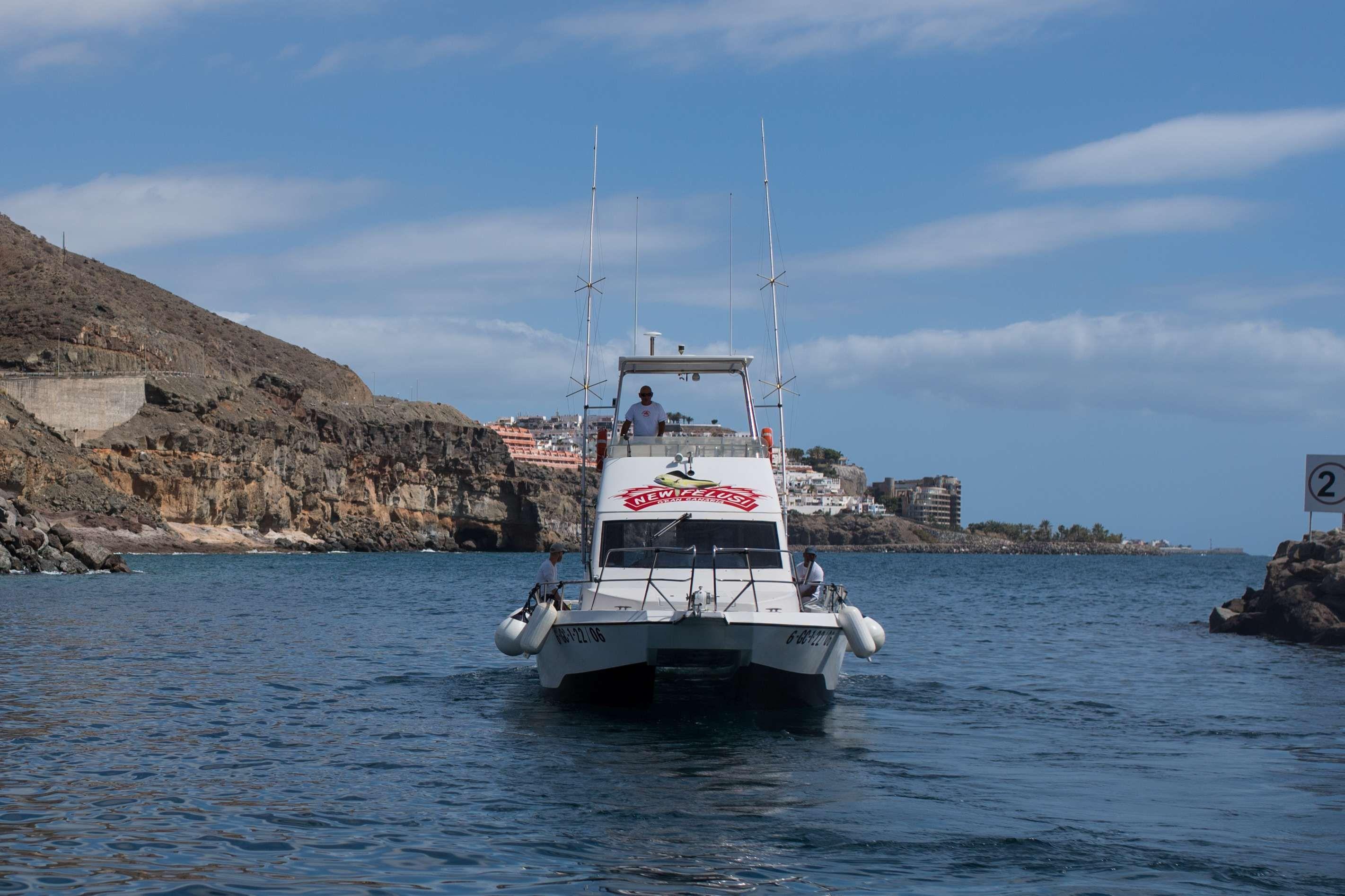 Salidas privadas en barco en Las Palmas