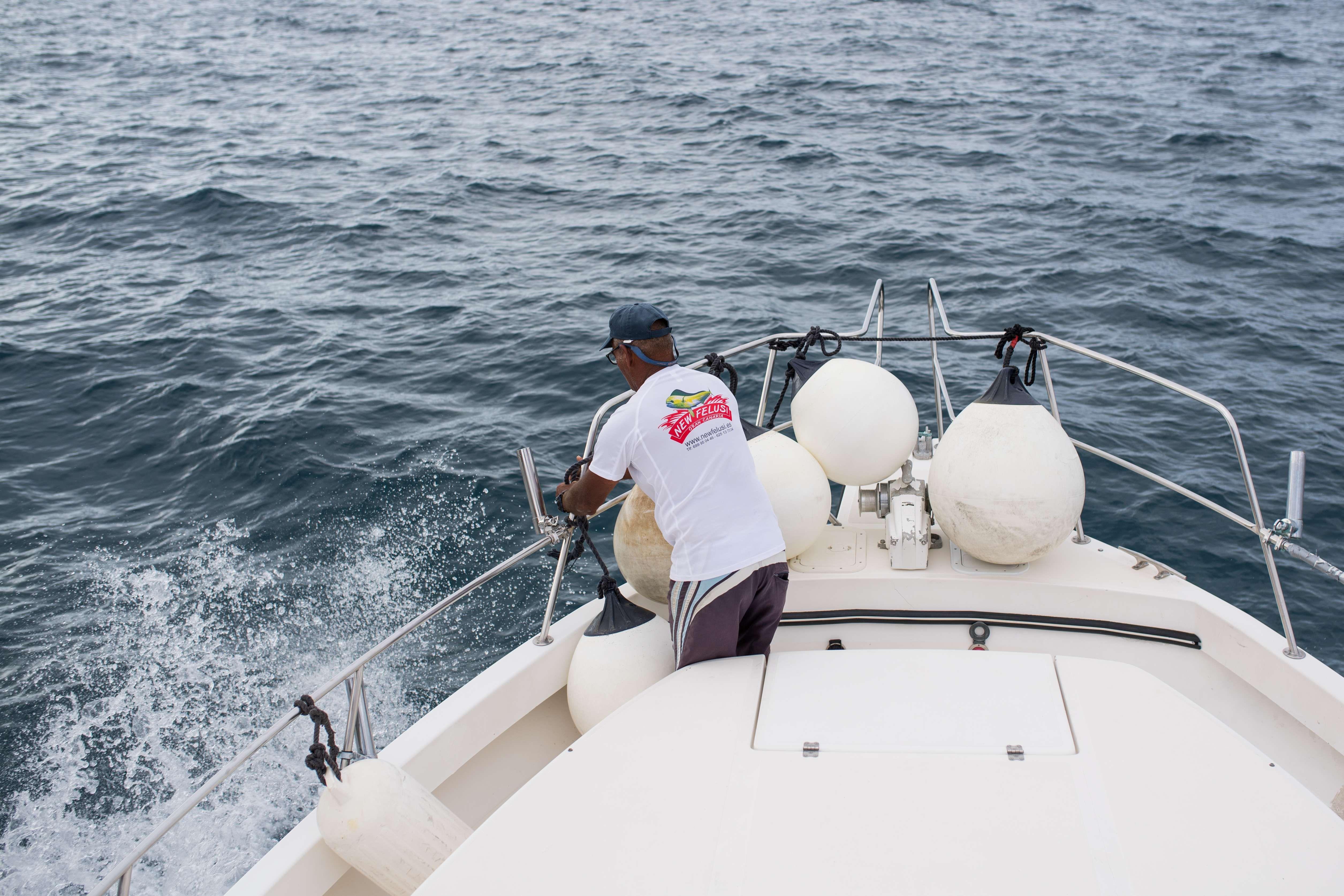 Pesca deportiva de altura en Mogán