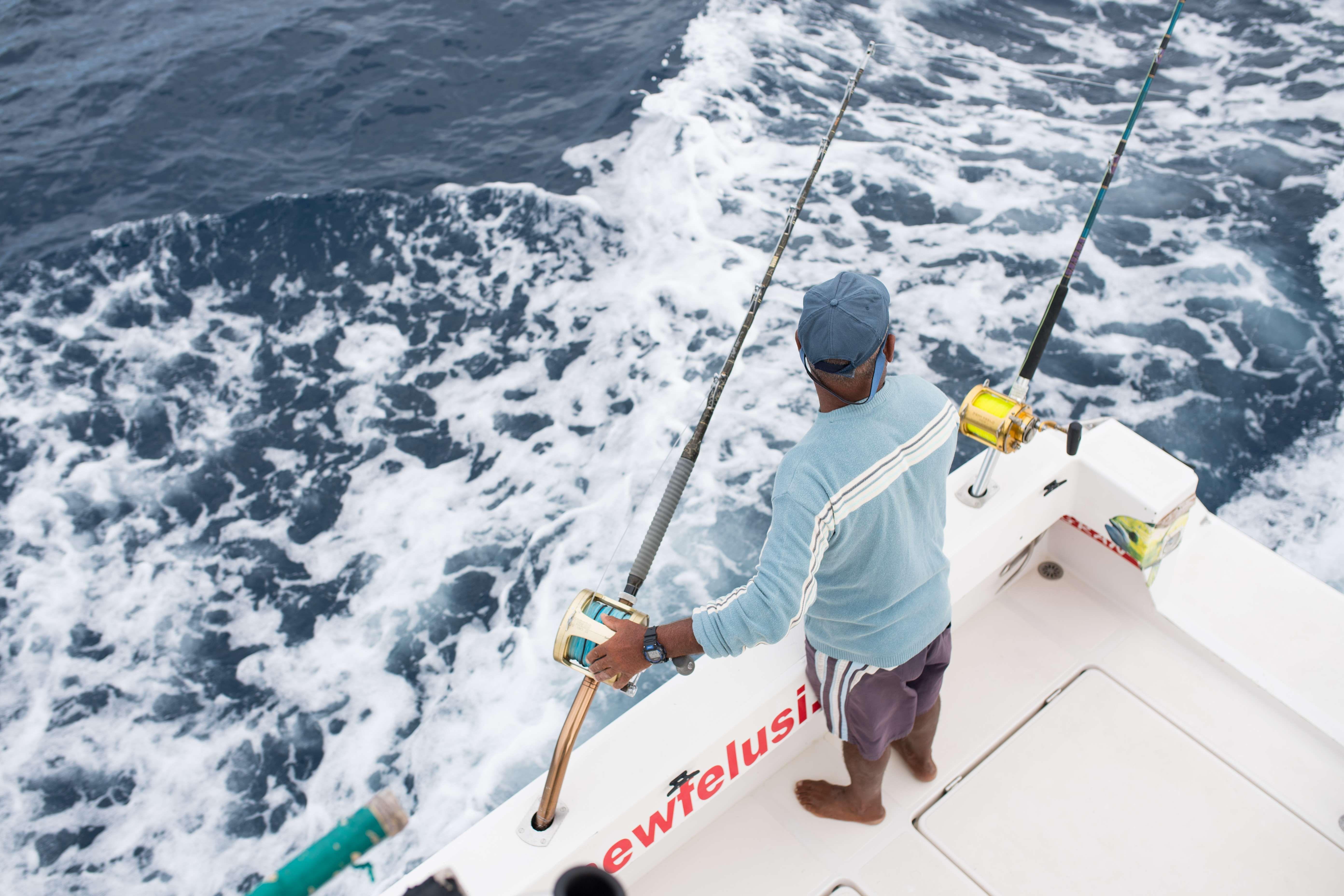 Charter de pesca en Mogán