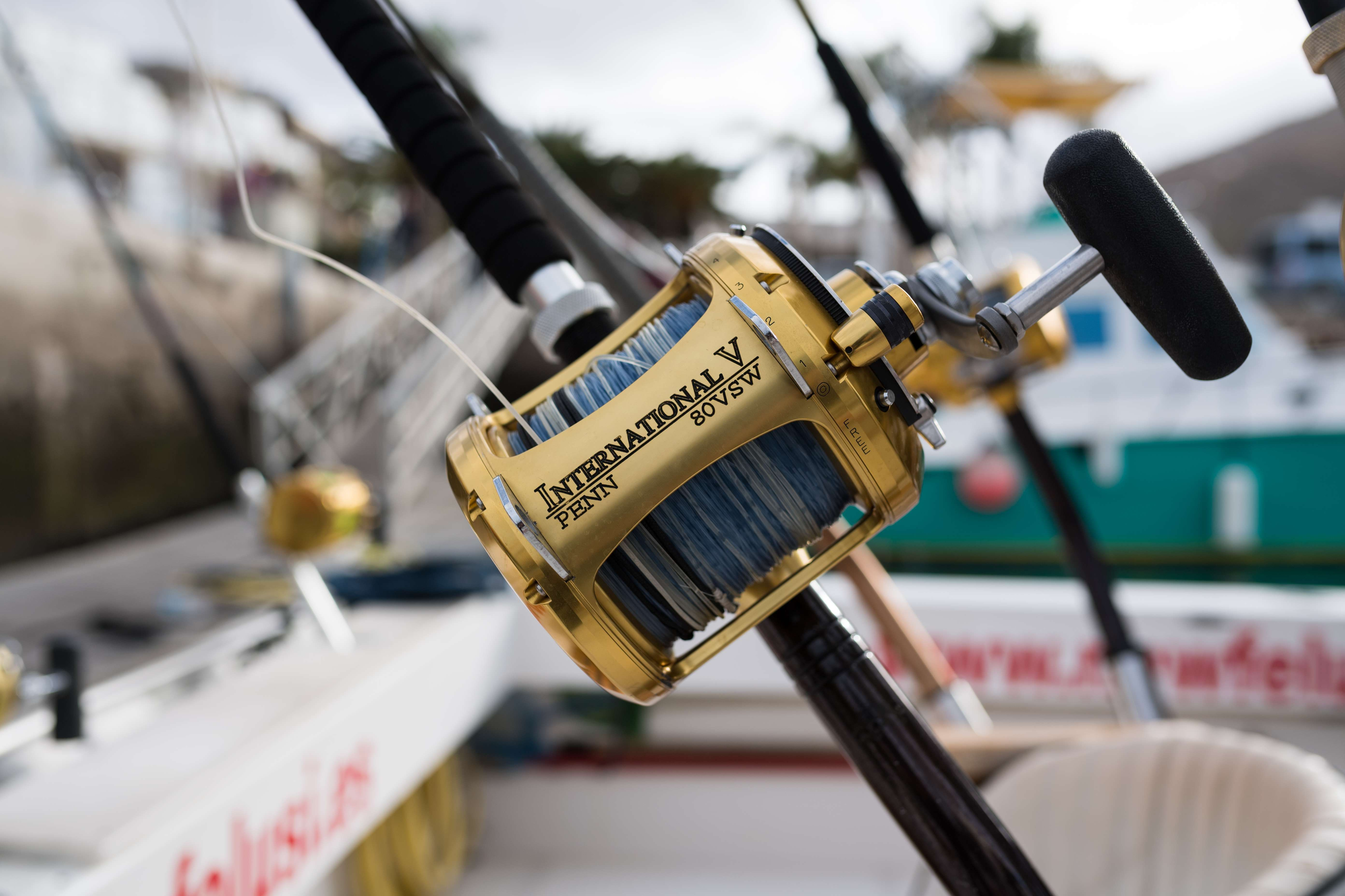 Barco completamente equipado para la pesca deportiva en Gran Canaria