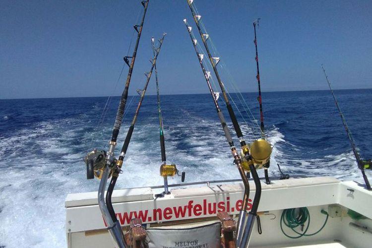 Alquiler de barco para pesca