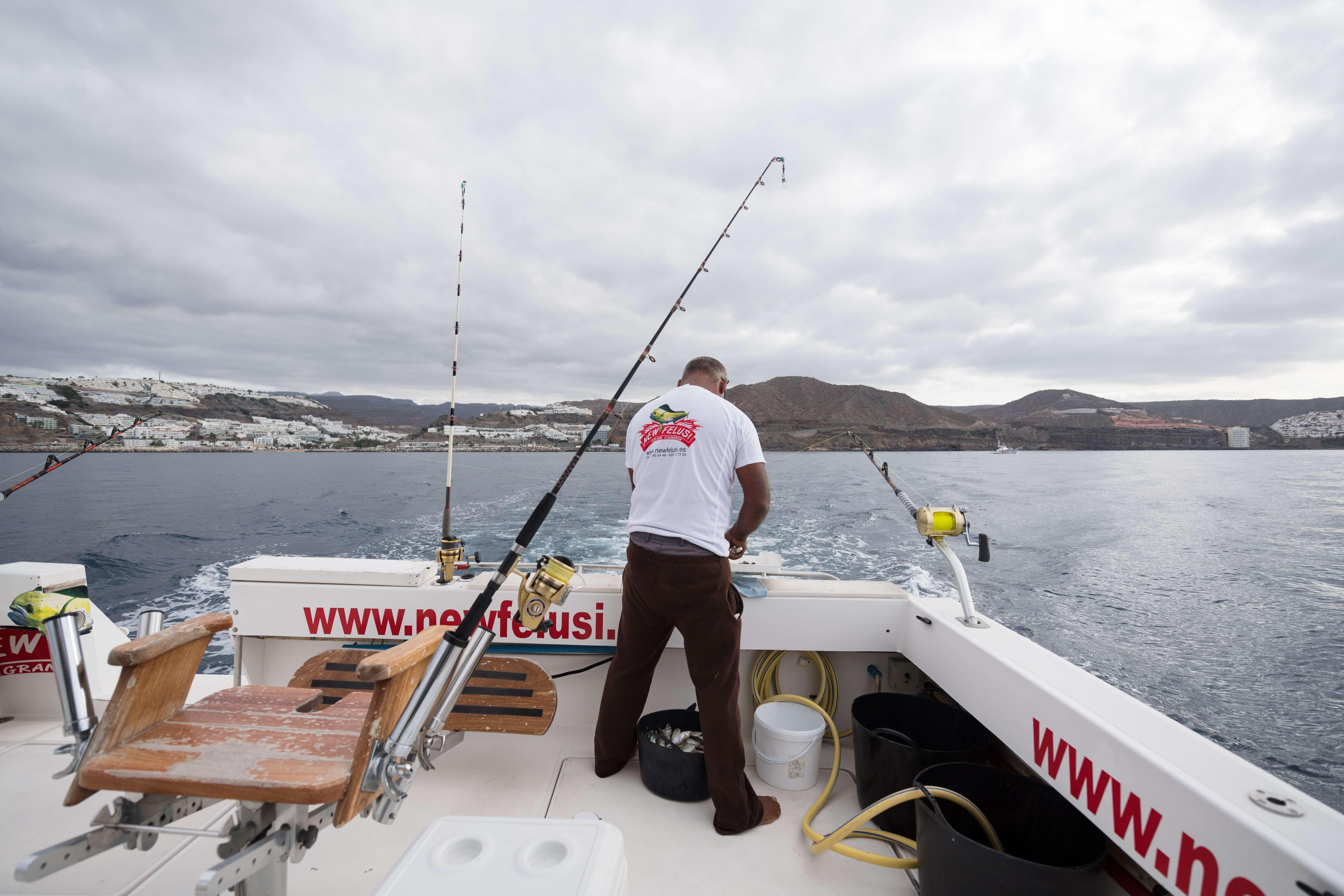 Aprender pesca de altura en Mogán, Gran Canaria