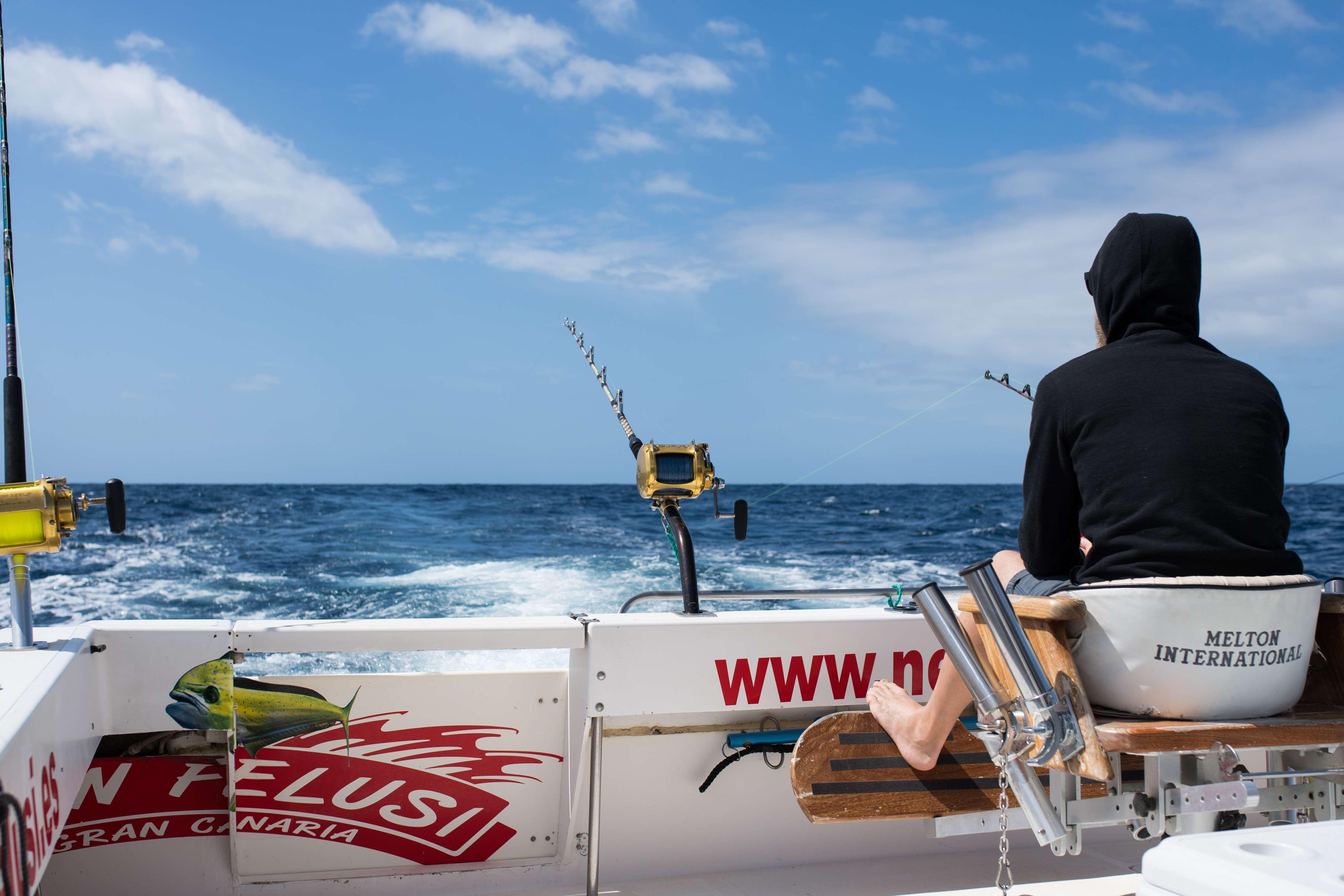 Barco para pesca deportiva en Gran Canaria