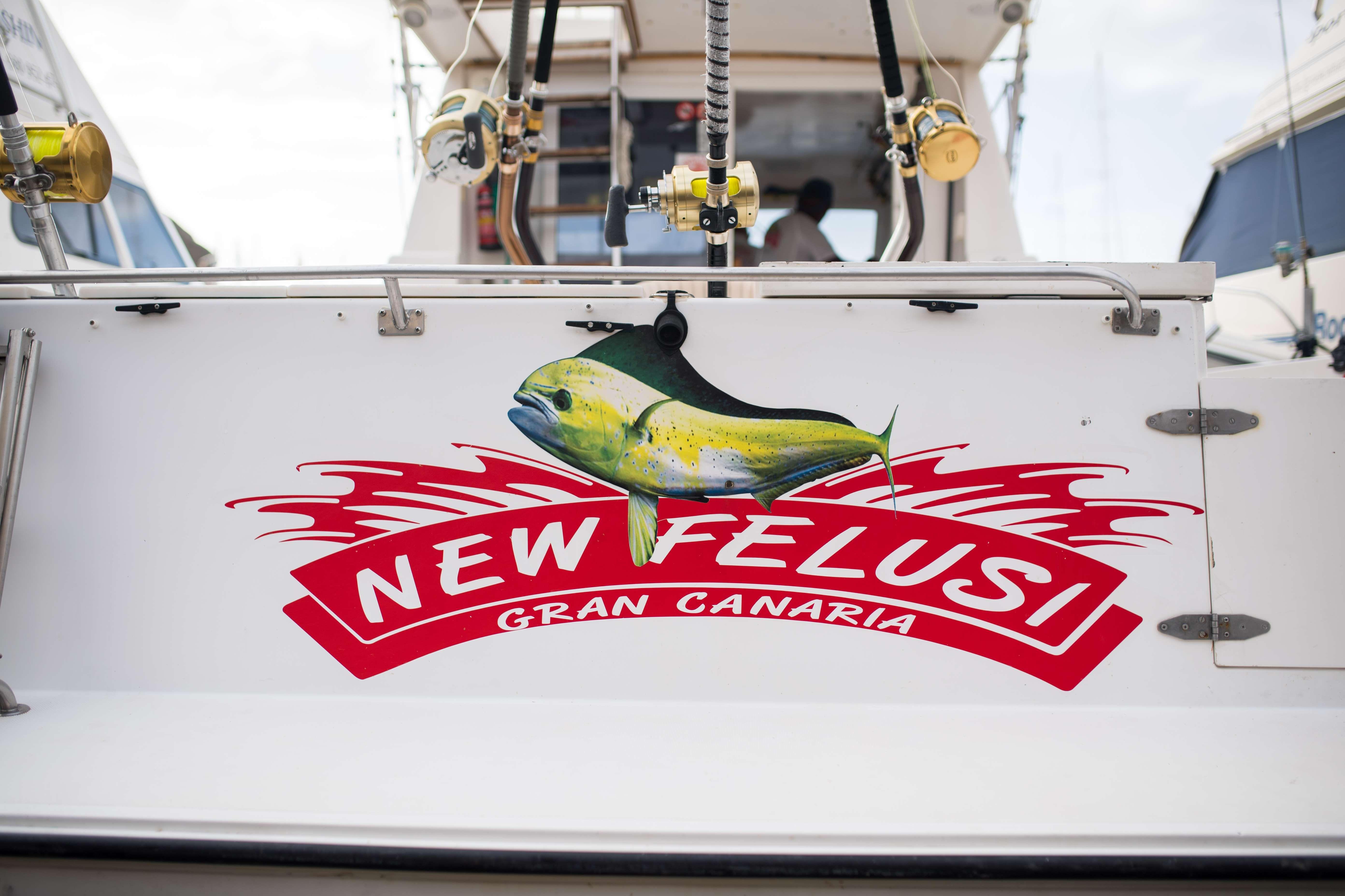 New Felusi, barco de pesca deportiva en Gran Canaria