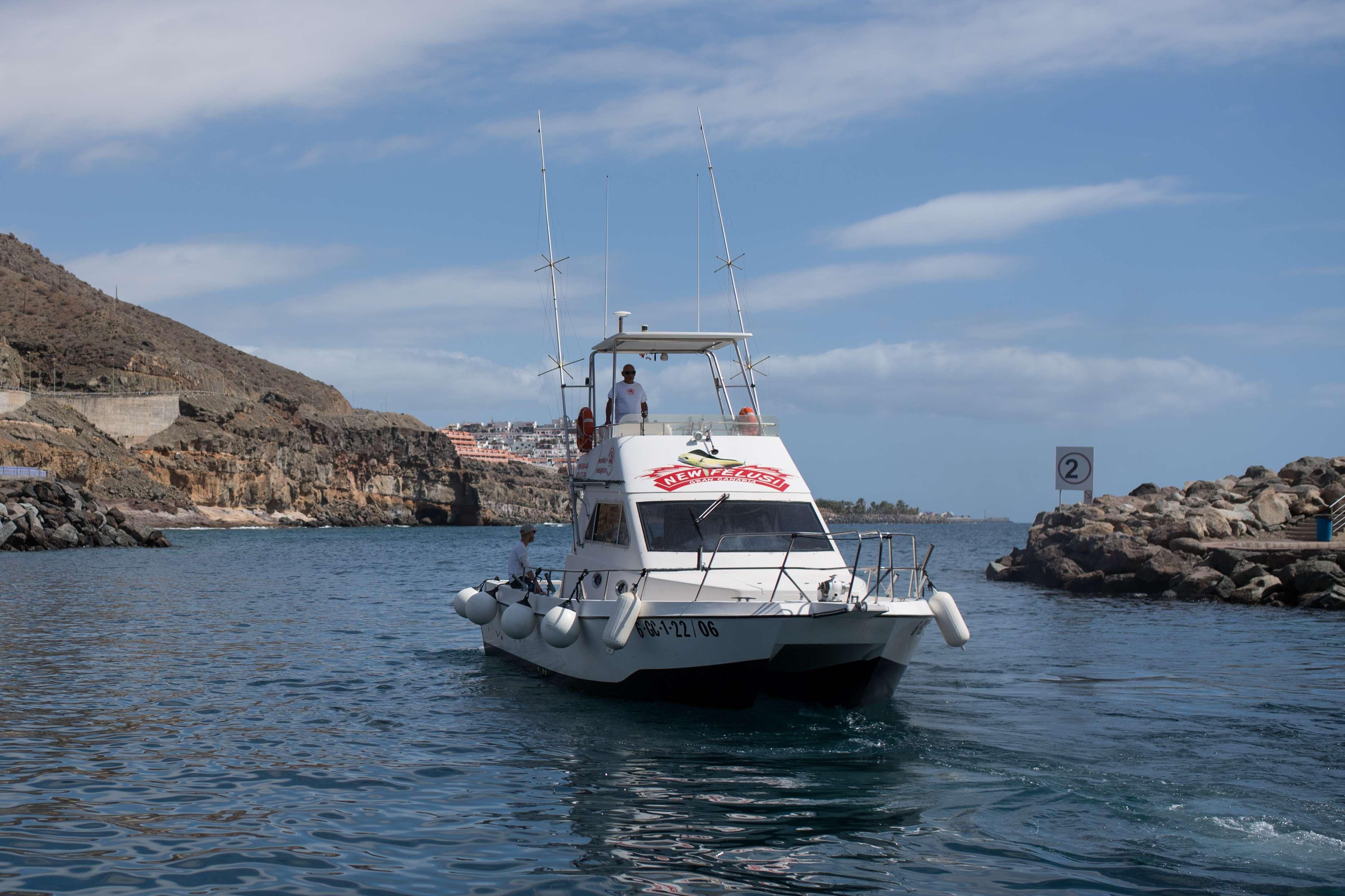 Salidas con barco de pesca en Las Palmas
