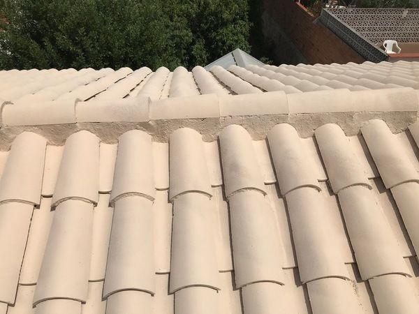 Trabajos aplicados a tejados