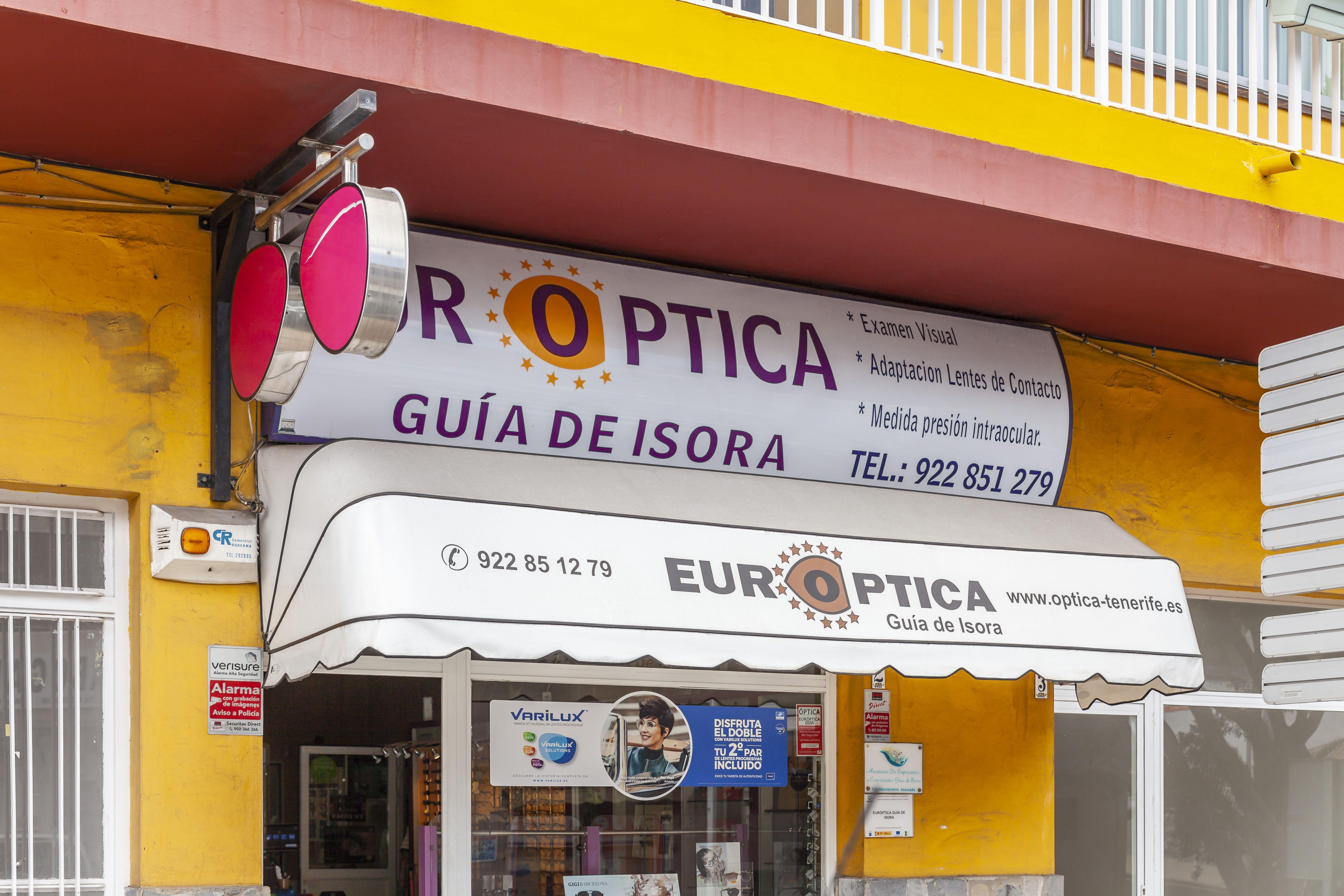 Lentes de contacto monofocales y progresivas en Guía de Isora Tenerife