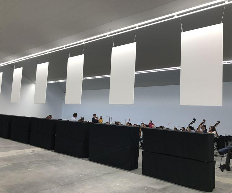 Aislamiento y acondicionamiento acústico de sala polivalente en Madrid