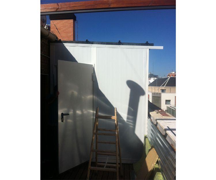 Aislamiento acústico de una condensadora en Madrid